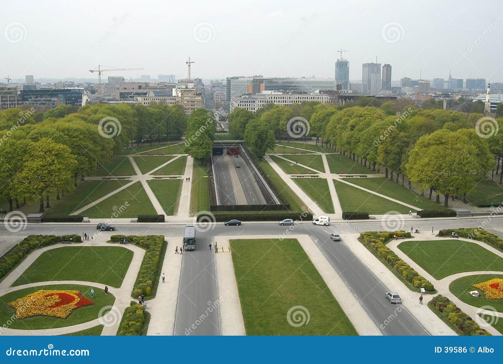 Brussels cinquantenaire du parc