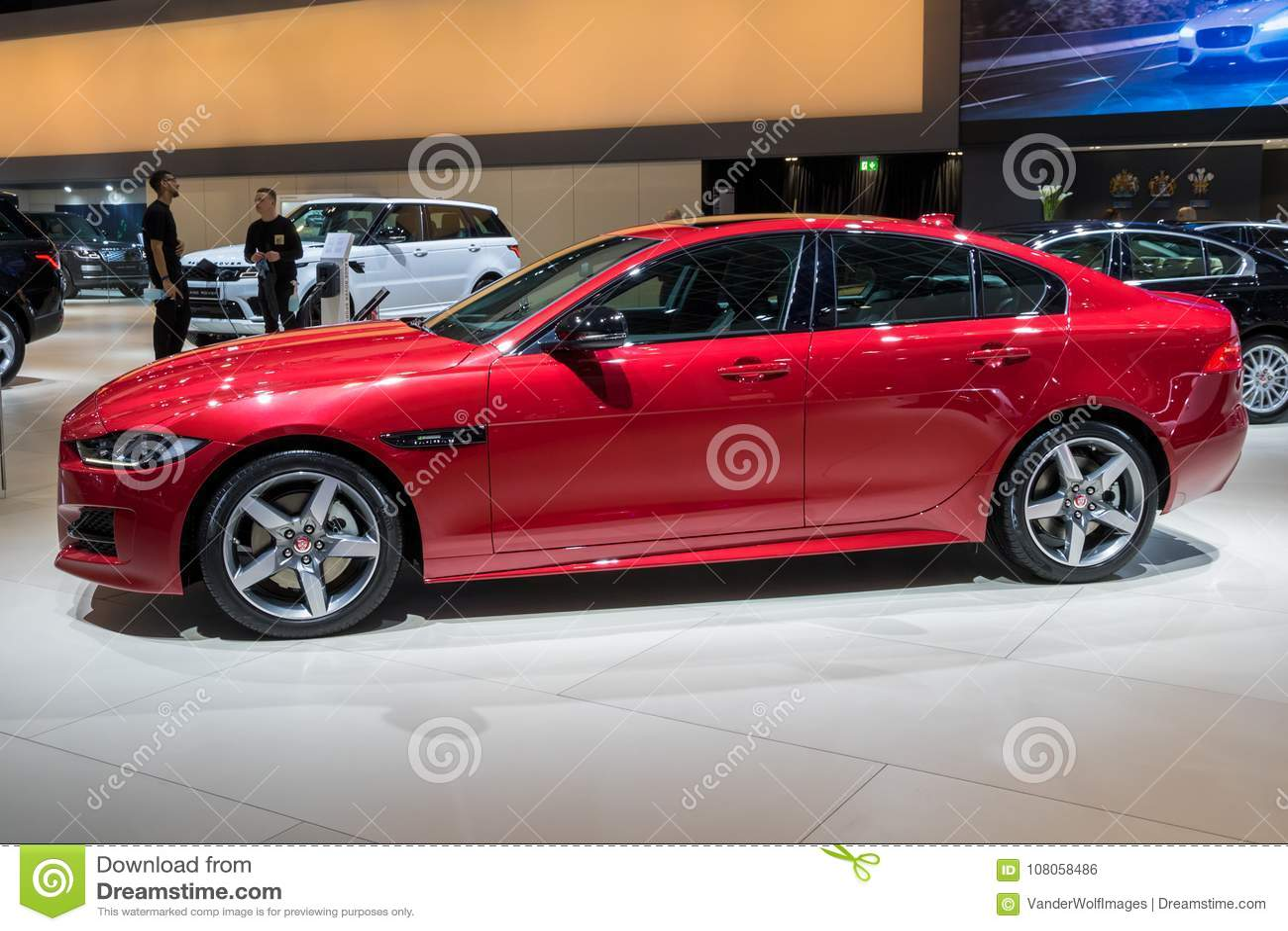 Jaguar XE Compact Executive Car Editorial Photo - Image of model, modern: 108058486