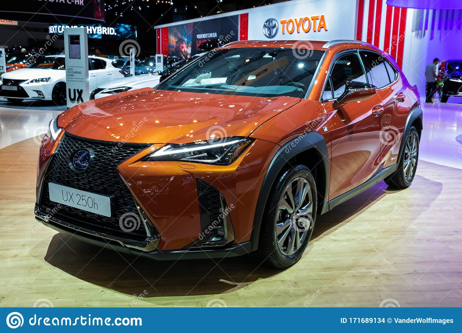 Brussels Jan 9 2020 Lexus Ux 250h Hybrid Compact Suv Car Model Showcased At The Brussels Autosalon 2020 Motor Show Editorial Stock Image Image Of Brussels Hybrid 171689134