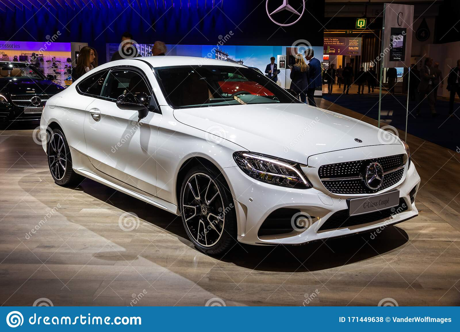 Brussels Jan 9 2020 New Mercedes Benz C Class Coupe Car Model Presented At The Brussels Autosalon 2020 Motor Show Editorial Stock Photo Image Of 2020 Autoshow 171449638