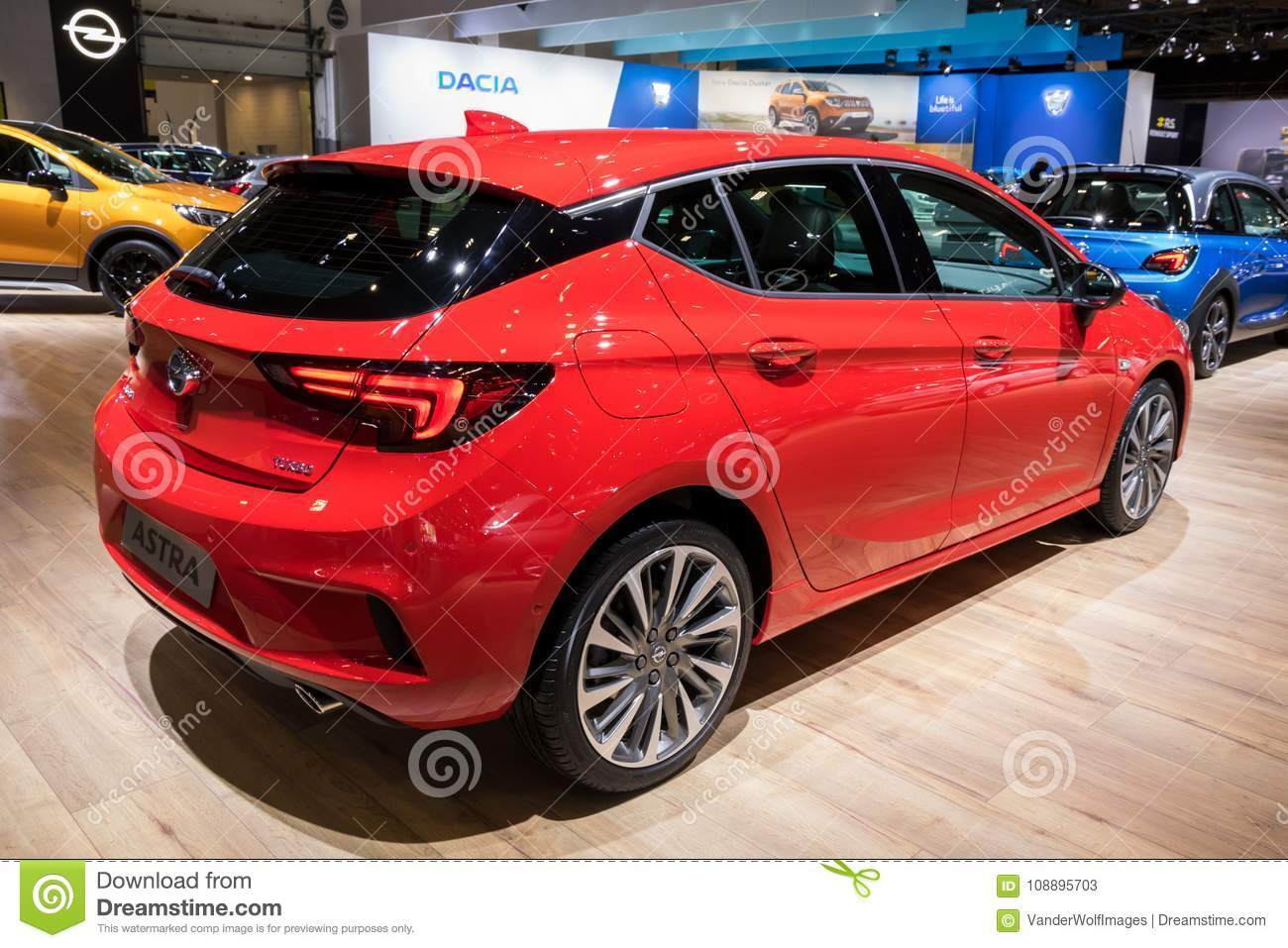 Opel Astra Car Editorial Stock Photo Image Of Autosalon 108895703