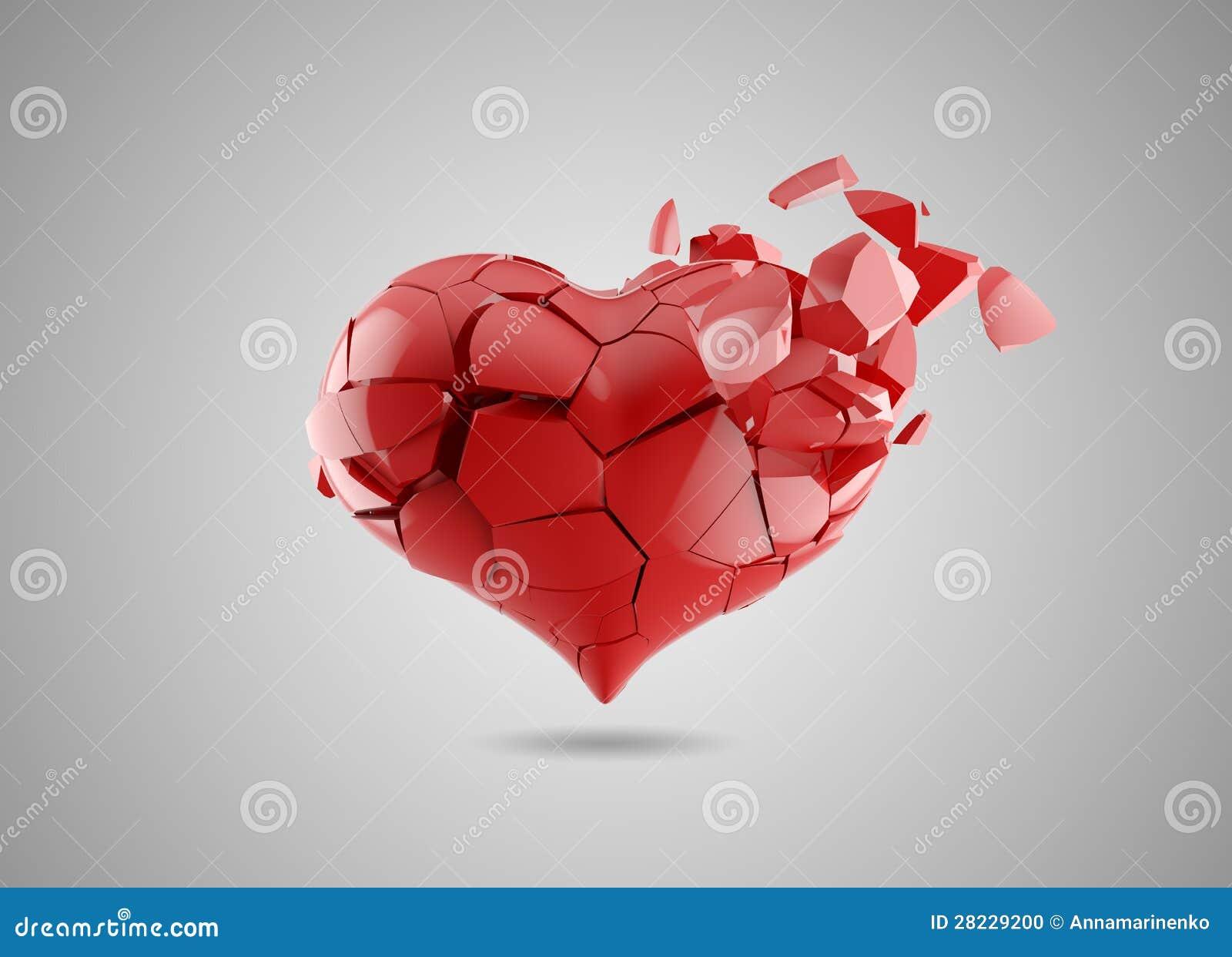 Bruten hjärta