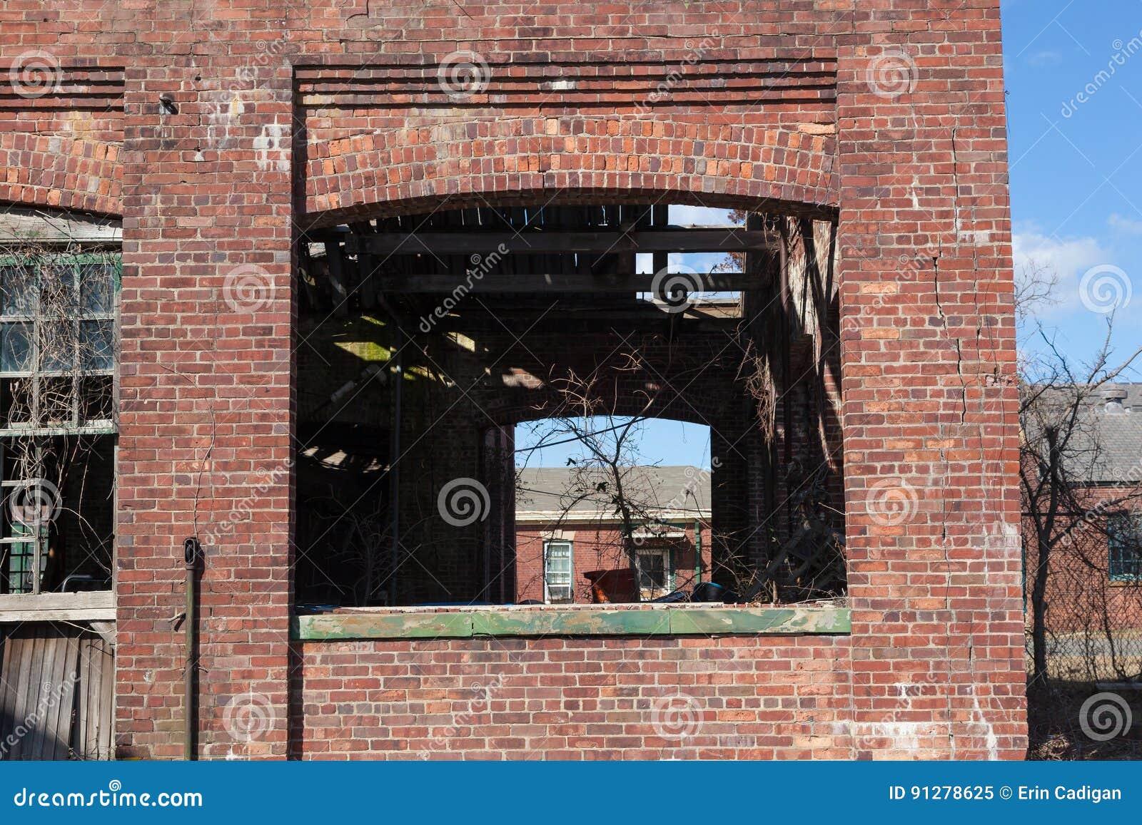 Brutna Windows på Sandy Hook