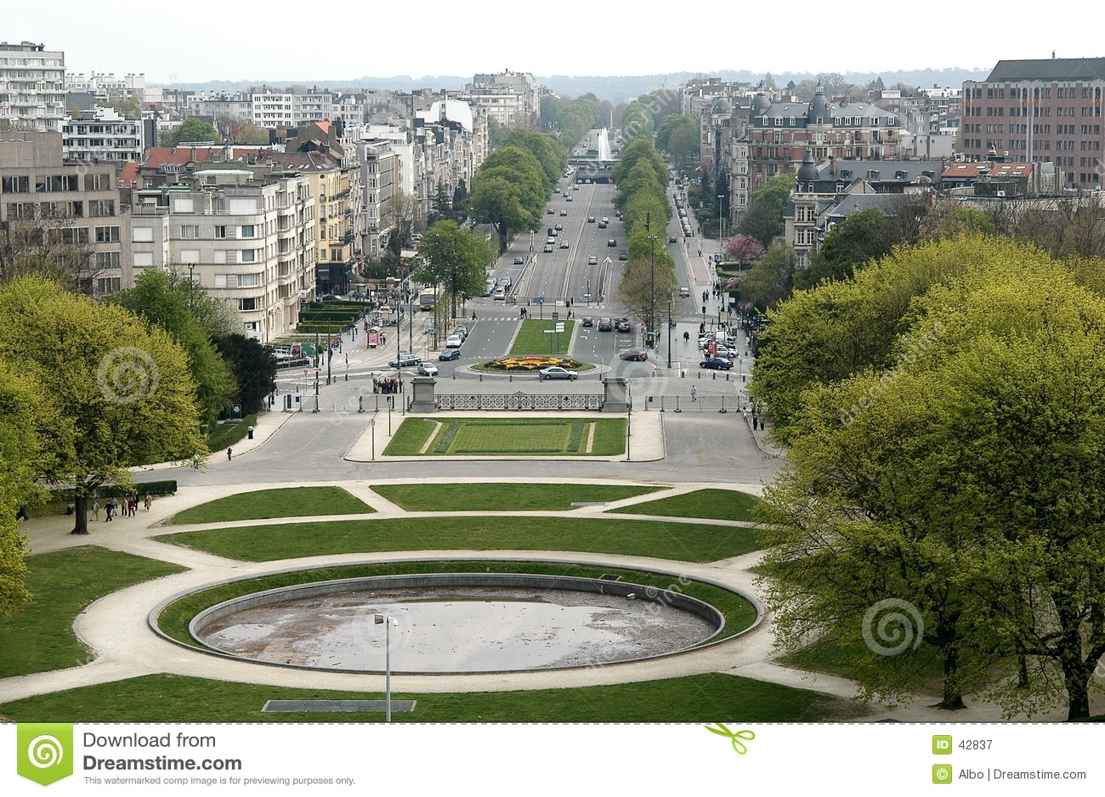 Bruxelles cinquantenaire du parc