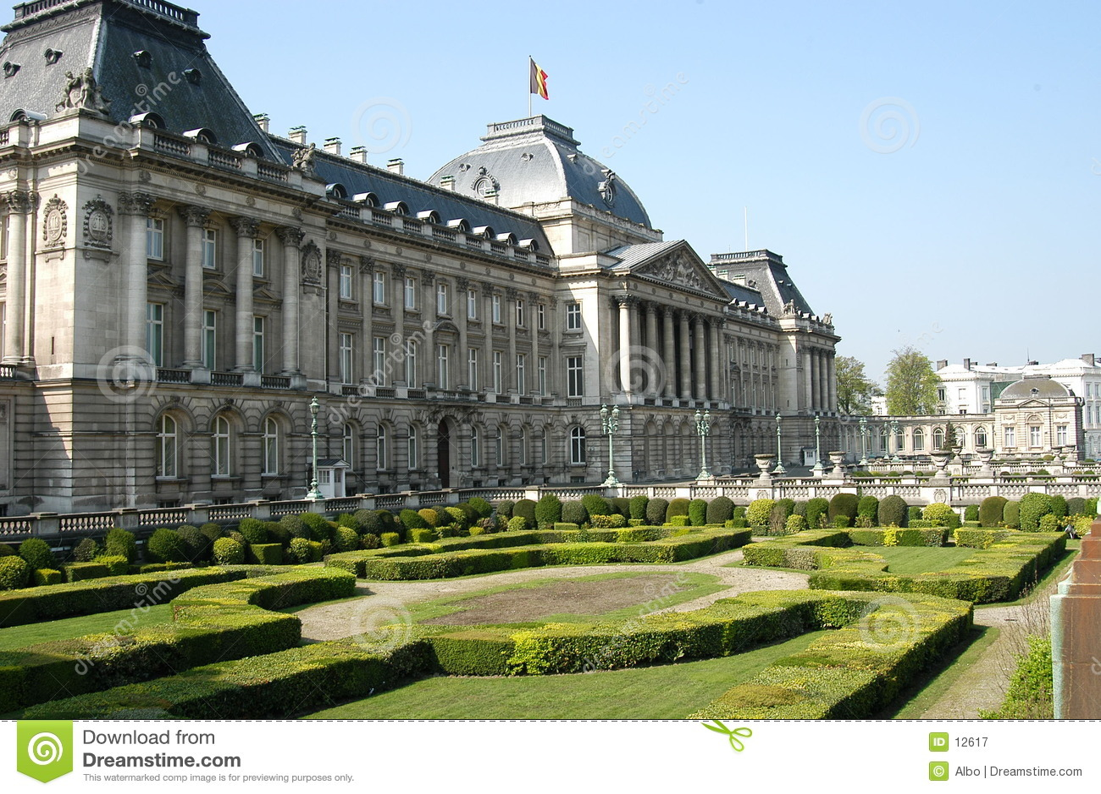 Bruxelles : Palace du Roi