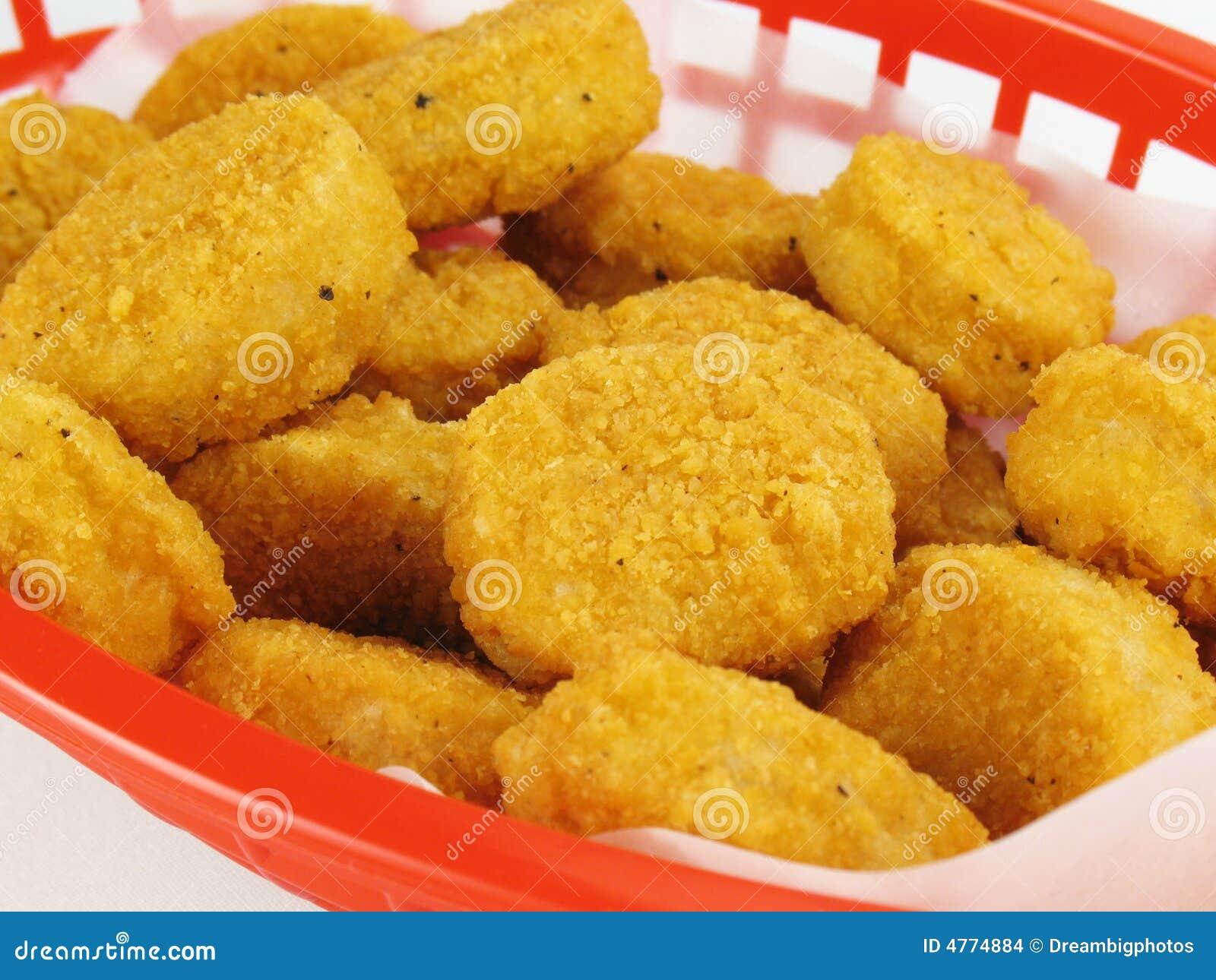 Bryłki kurczaka