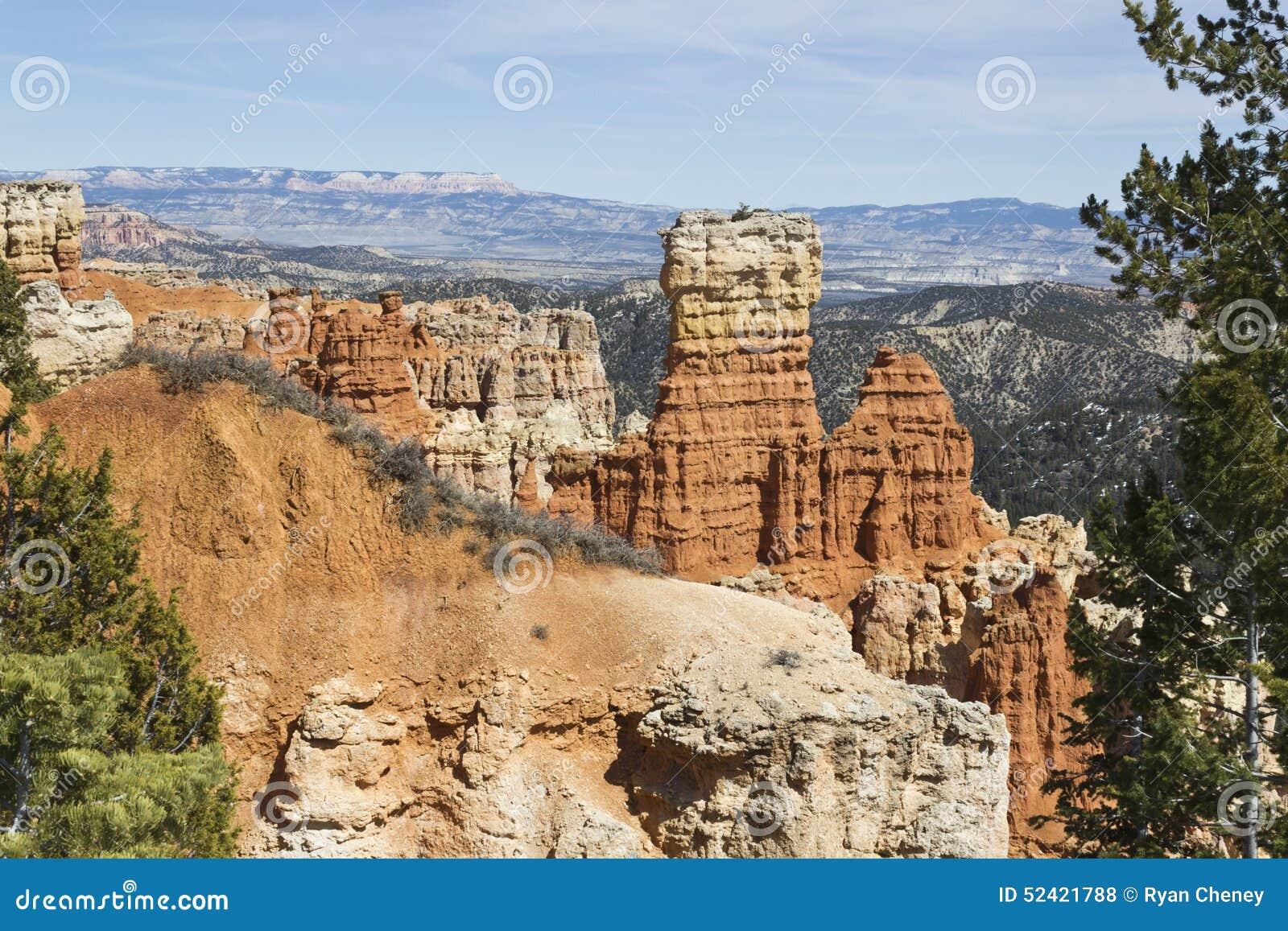 Bryce Canyon Hoodoo Formations