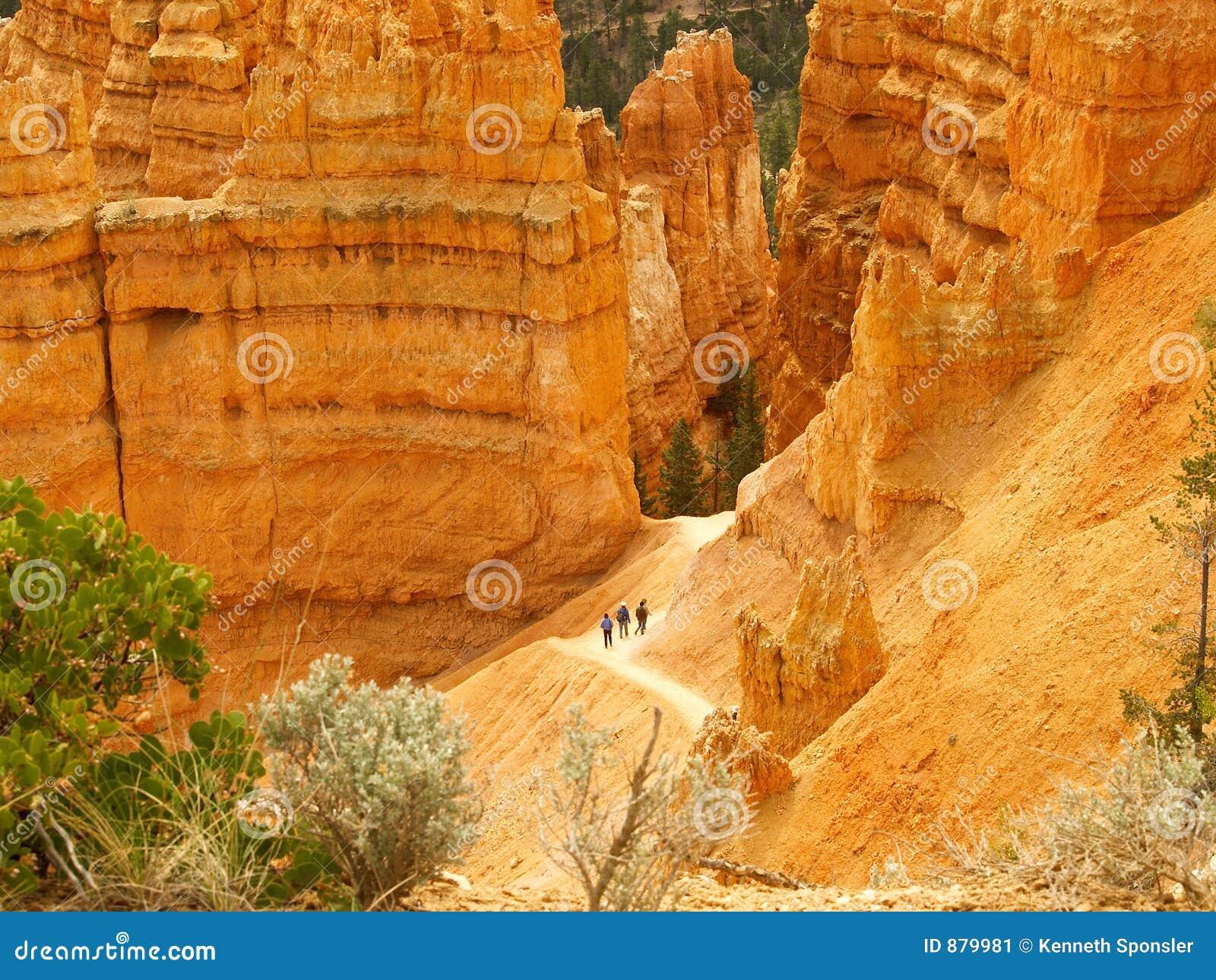 Bryce canyon wycieczkowicze