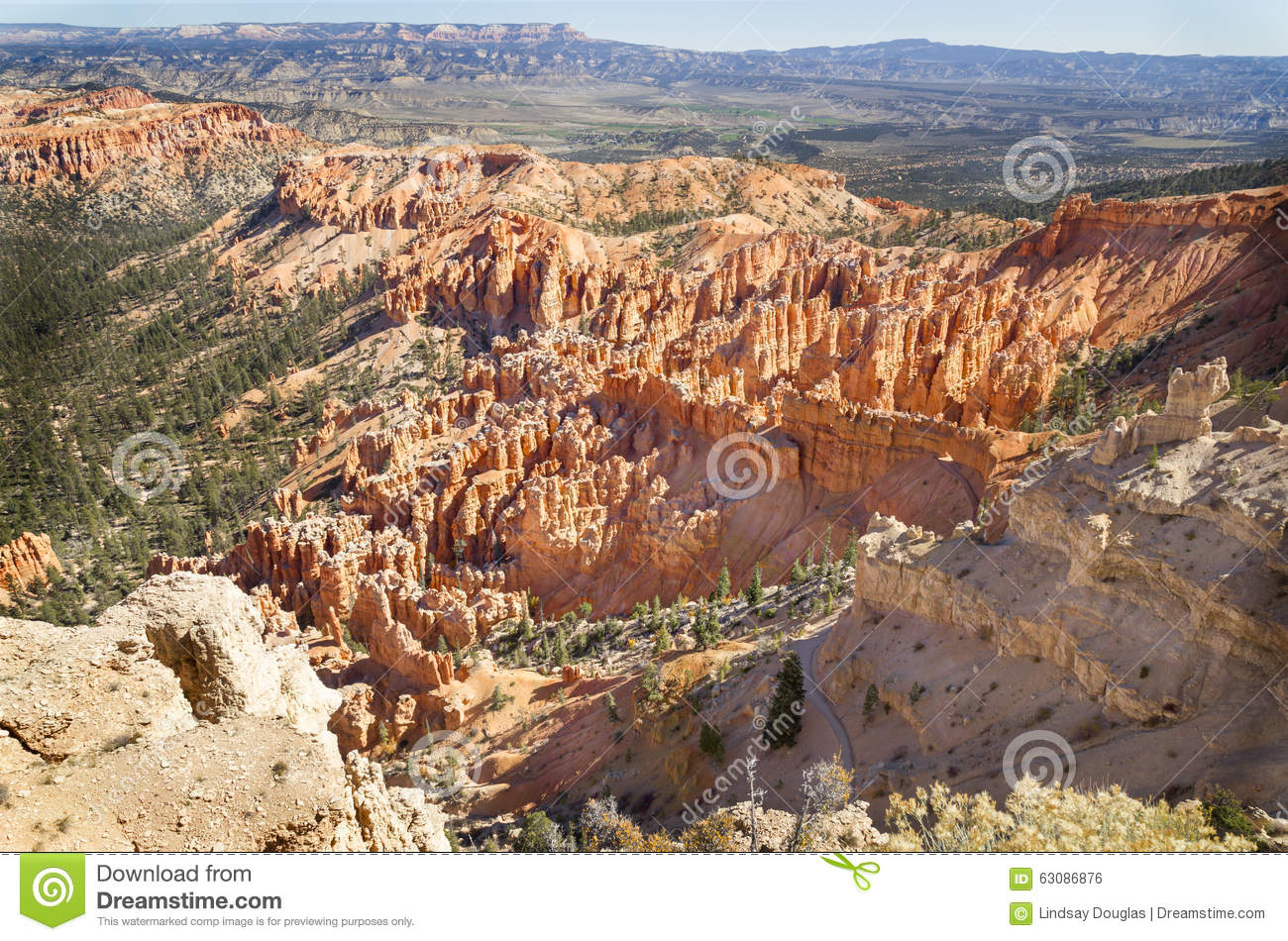 Download Bryce Point photo stock. Image du scénique, sud, excessif - 63086876