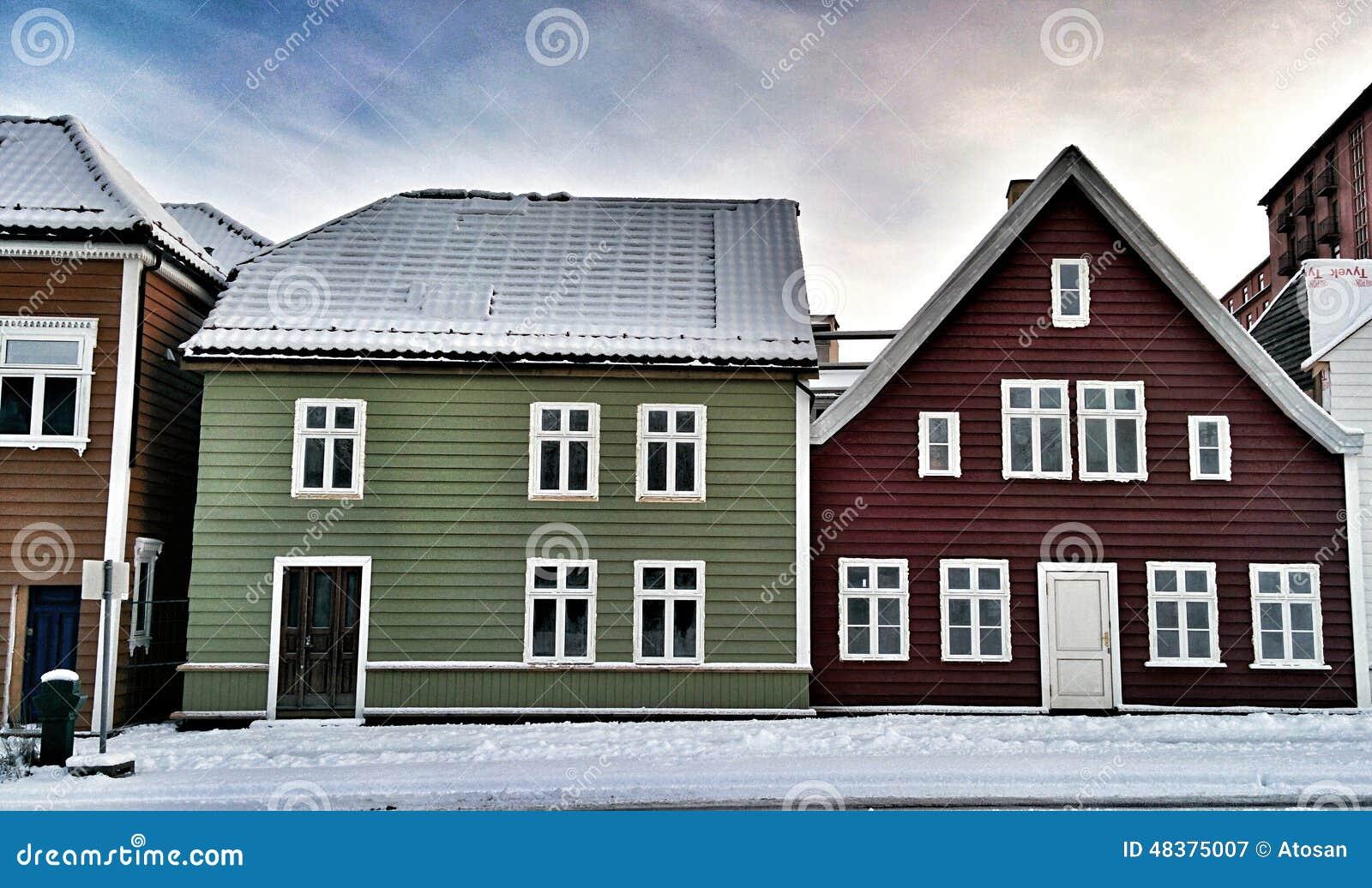 Bryggen Bergen Norway Stock Photo Image 48375007