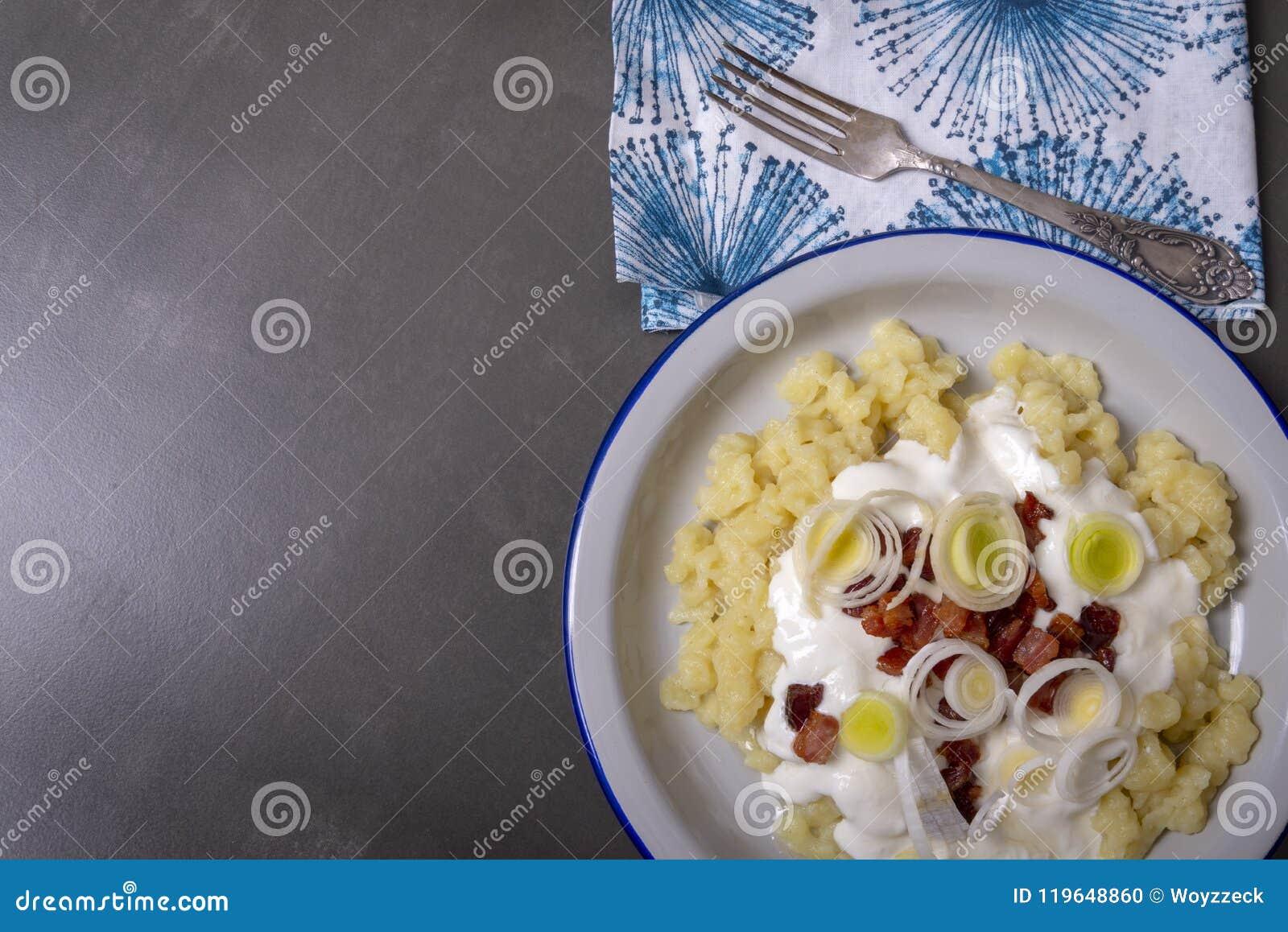Bryndzove Halusky 斯洛伐克传统烹调
