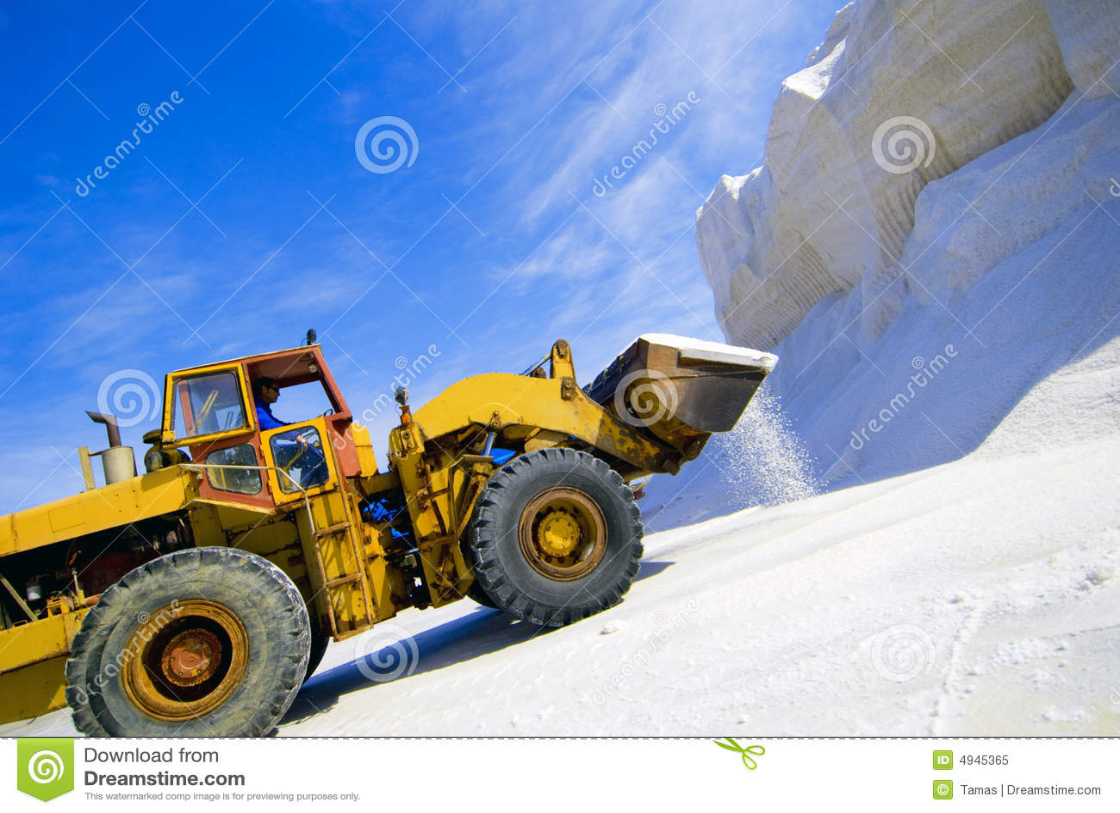 Bryta för utrustning som är salt