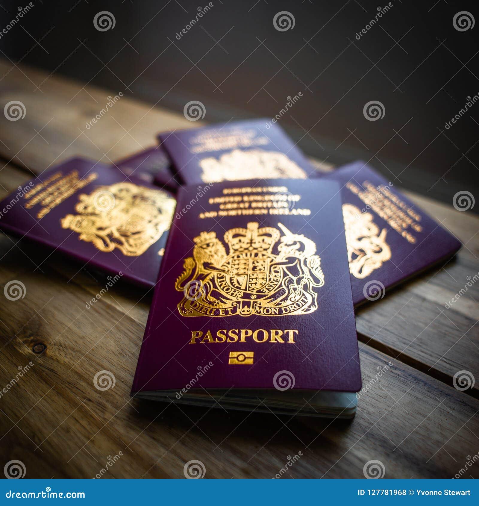 Brytyjscy Europejskiego zjednoczenia Biometryczni paszporty