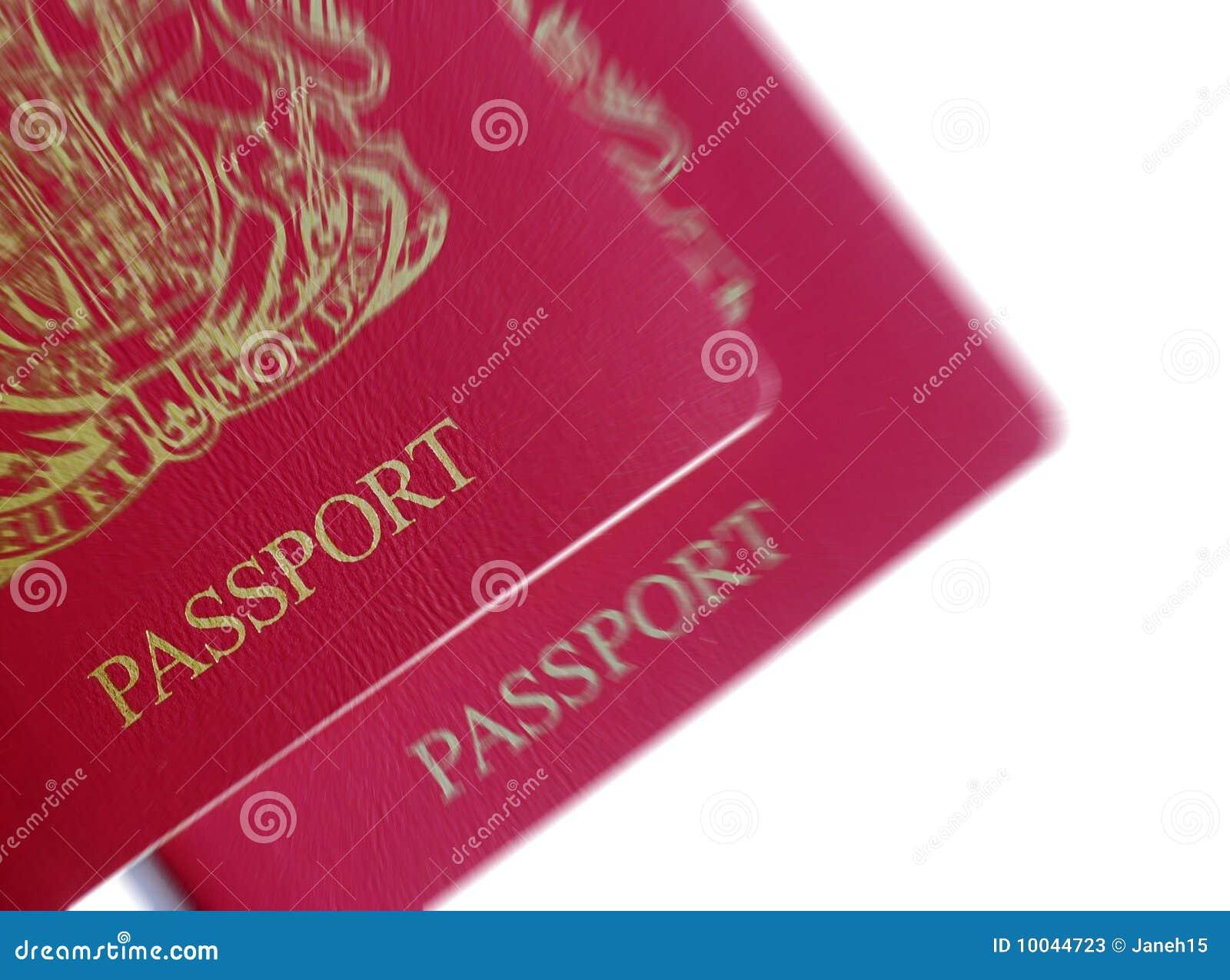 Brytyjscy paszporty