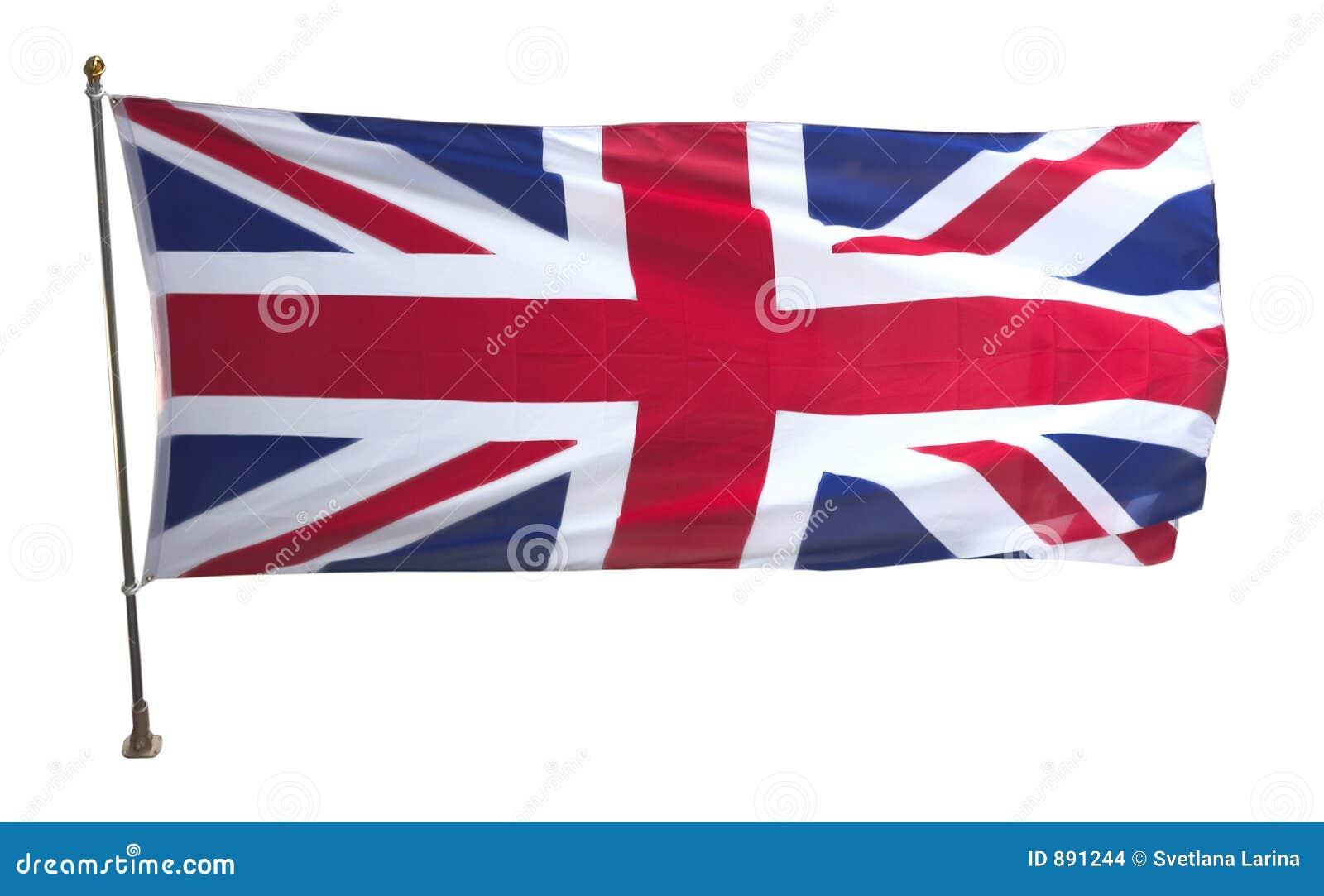 Brytyjska flagę