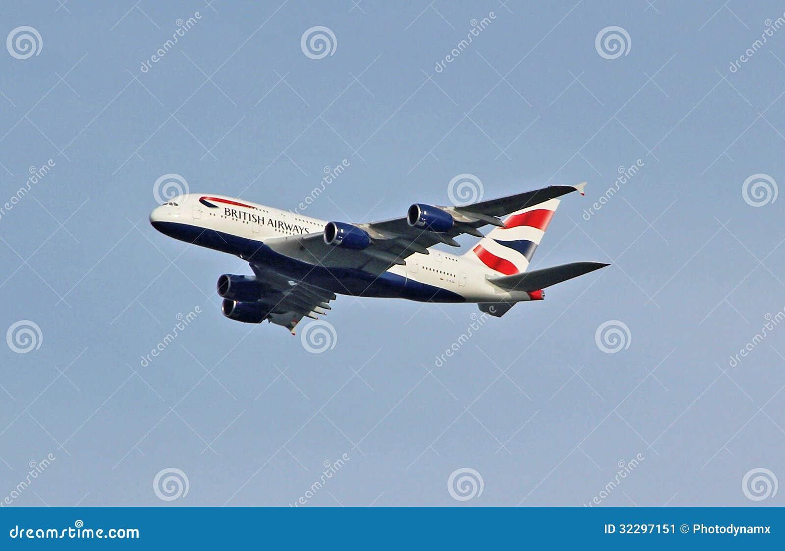 Brytyjskie drogi oddechowe A380 Airbus
