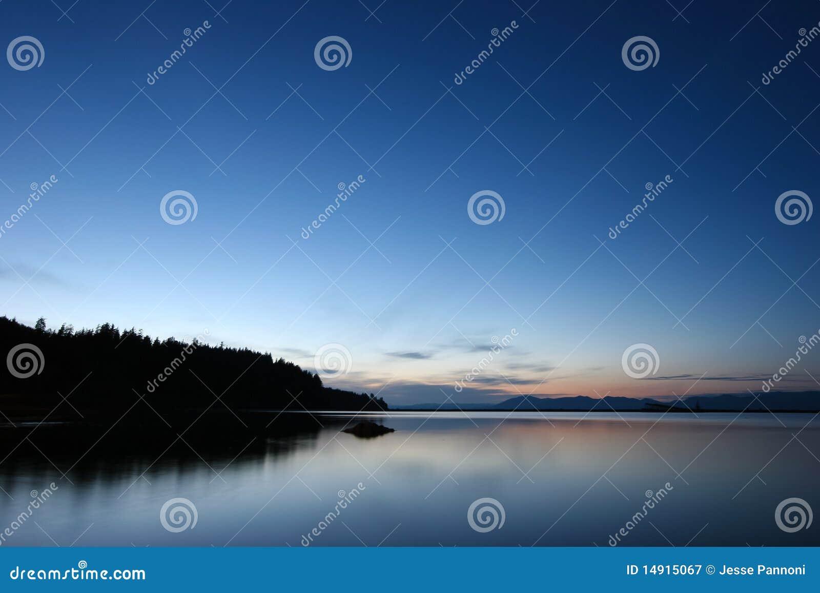Brzegowa De Fuca Juan stan cieśnina Washington