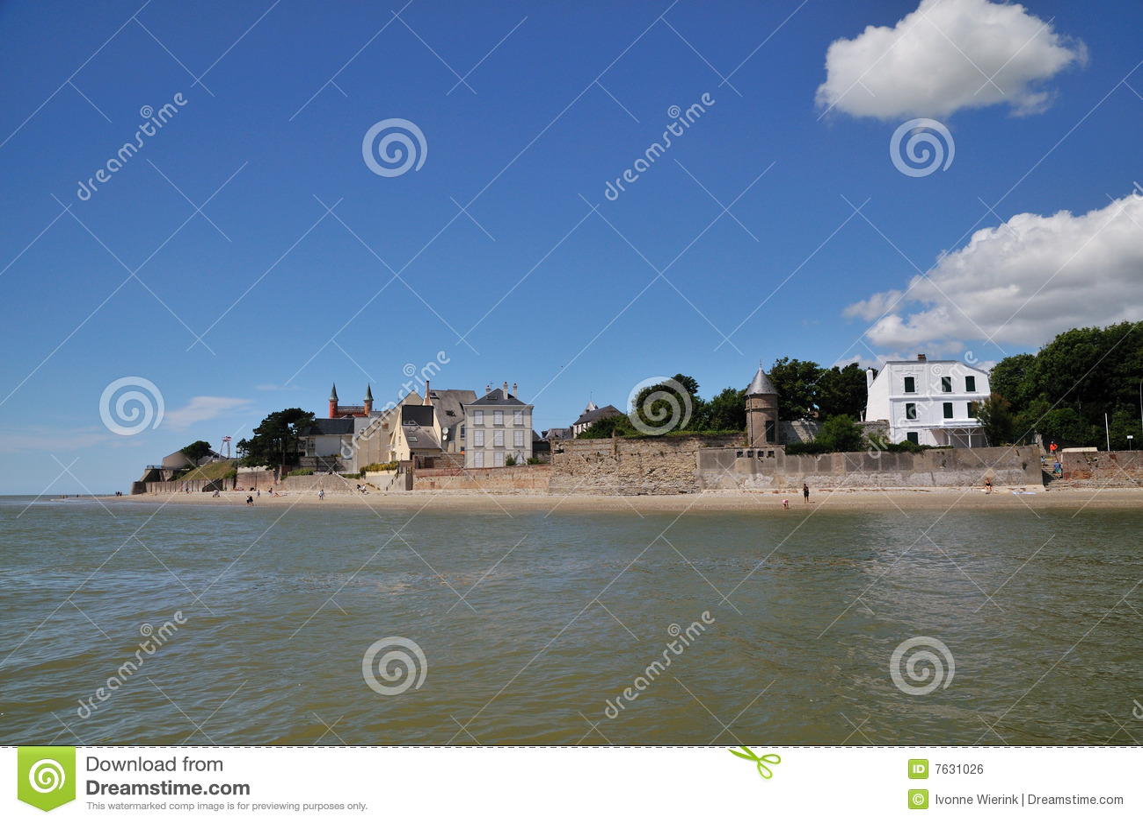 Brzegowy crotoy Normandy