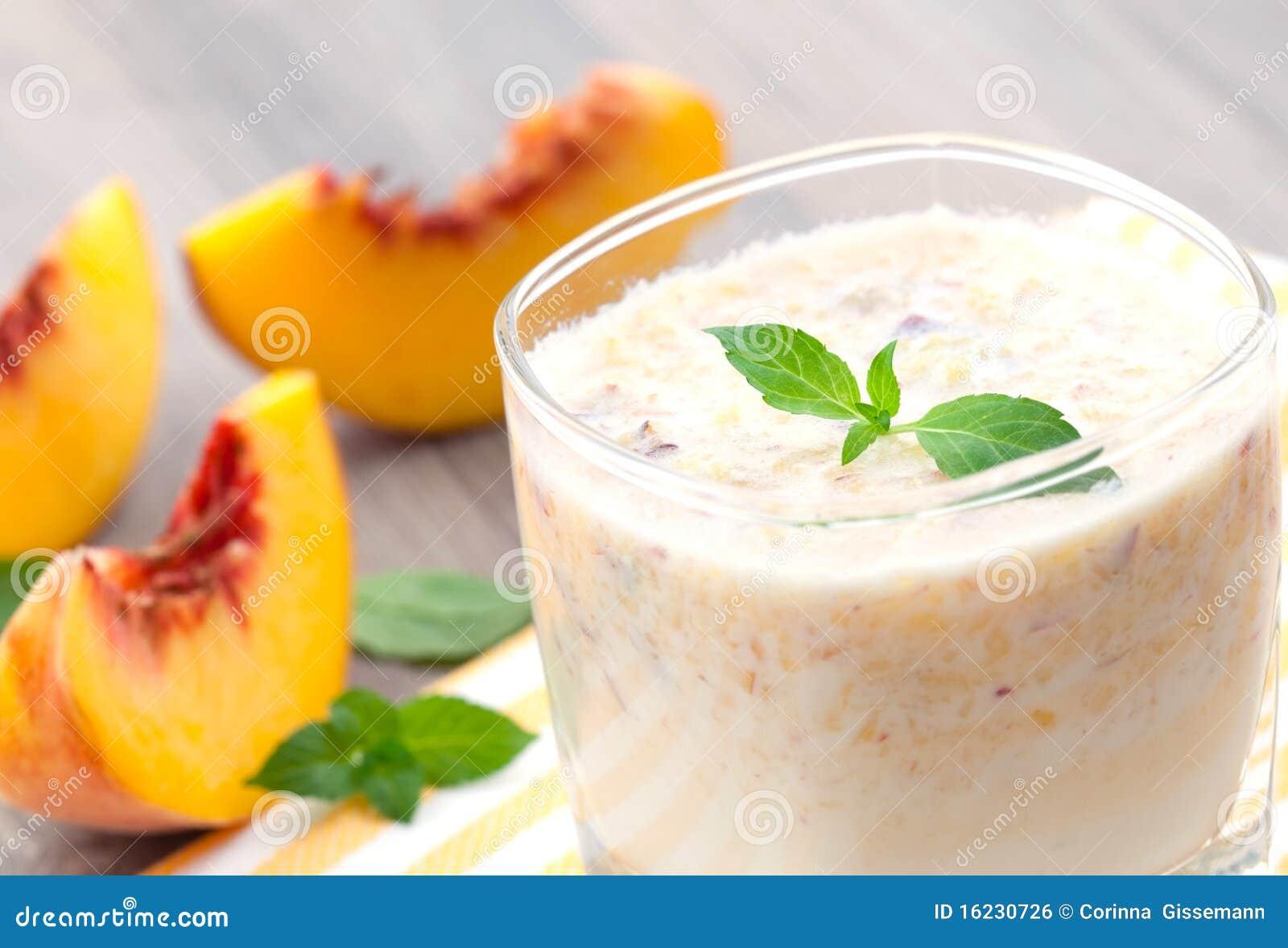Brzoskwini smoothie