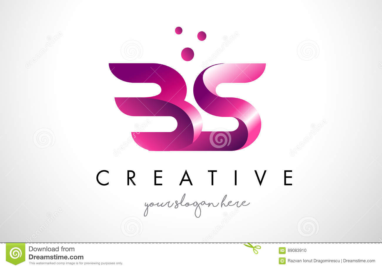 Bs Letter Logo Design Stock Illustrations – 129 Bs Letter Logo ...