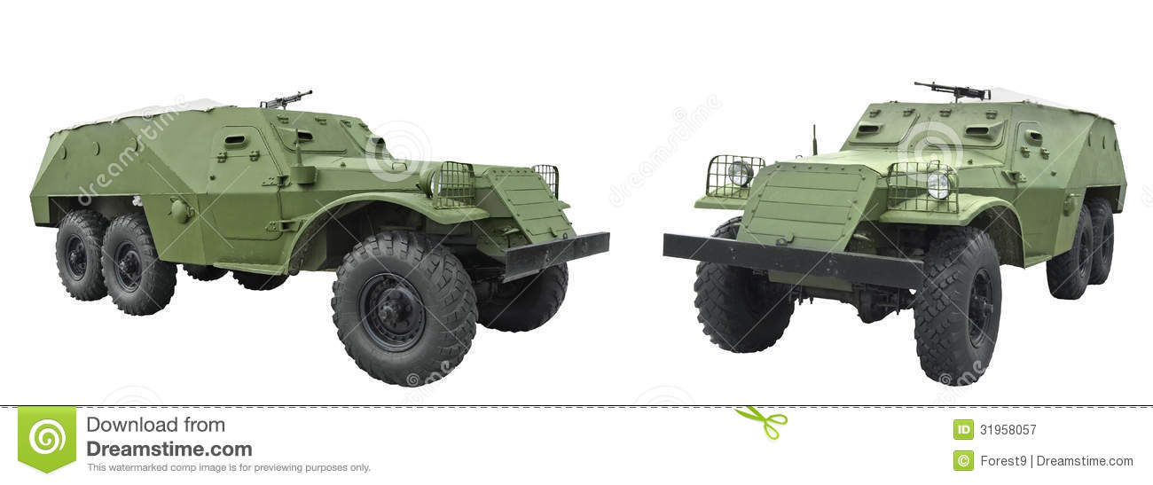 BTR-152 - armored personnel carrier