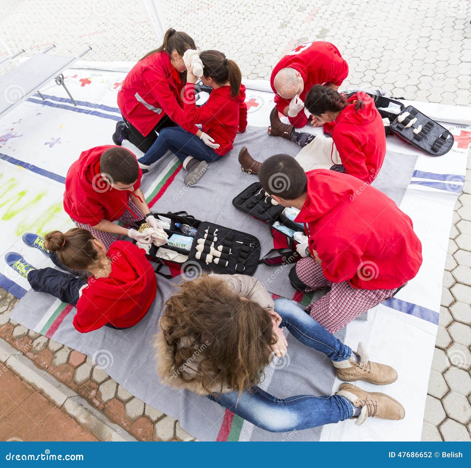 Bułgarska czerwony krzyż młodości ochotnicza organizacja (BRCY)