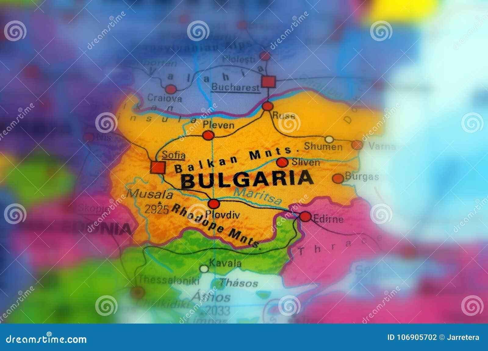 Bułgaria Bułgaria republika, oficjalnie