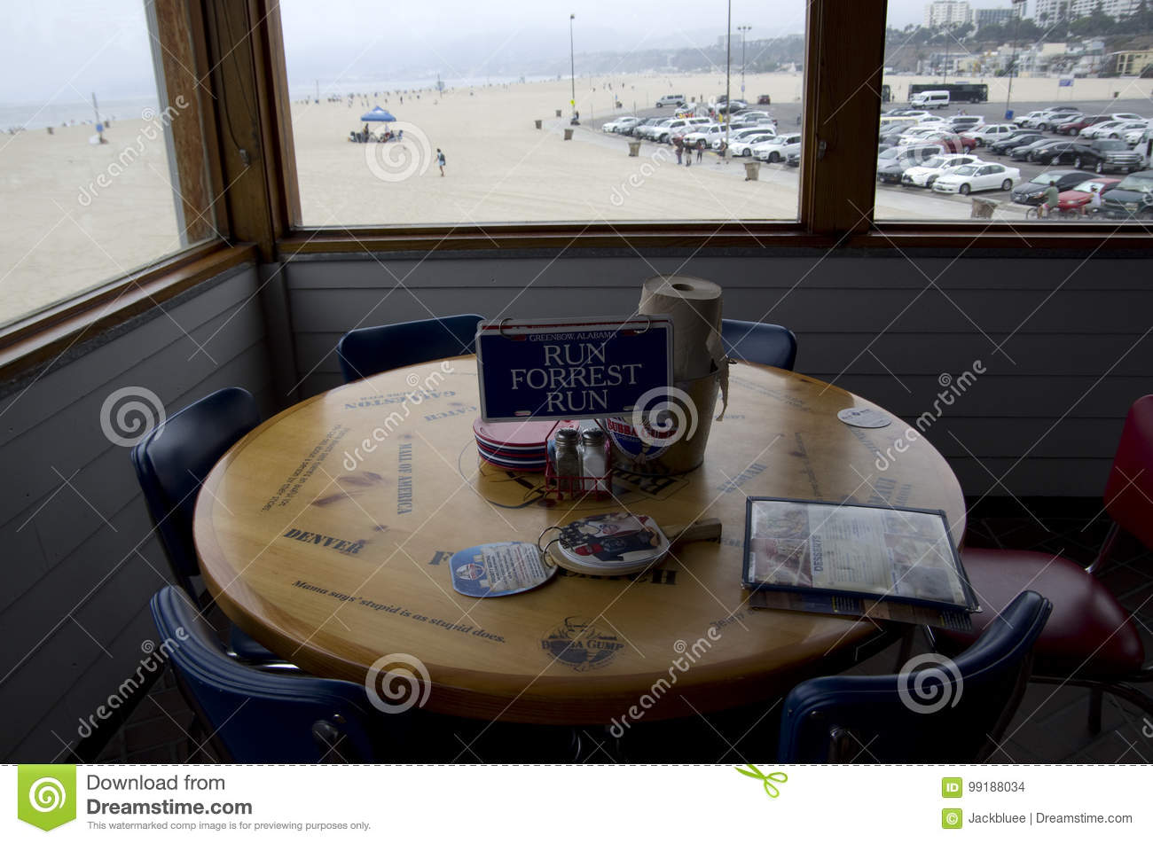 Bubba Gump Shrimp Company Restaurant Editorial Stock Image - Image