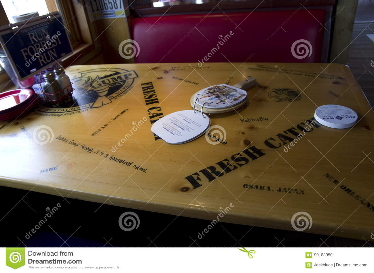 Bubba Gump Shrimp Company Restaurant Editorial Image - Image of