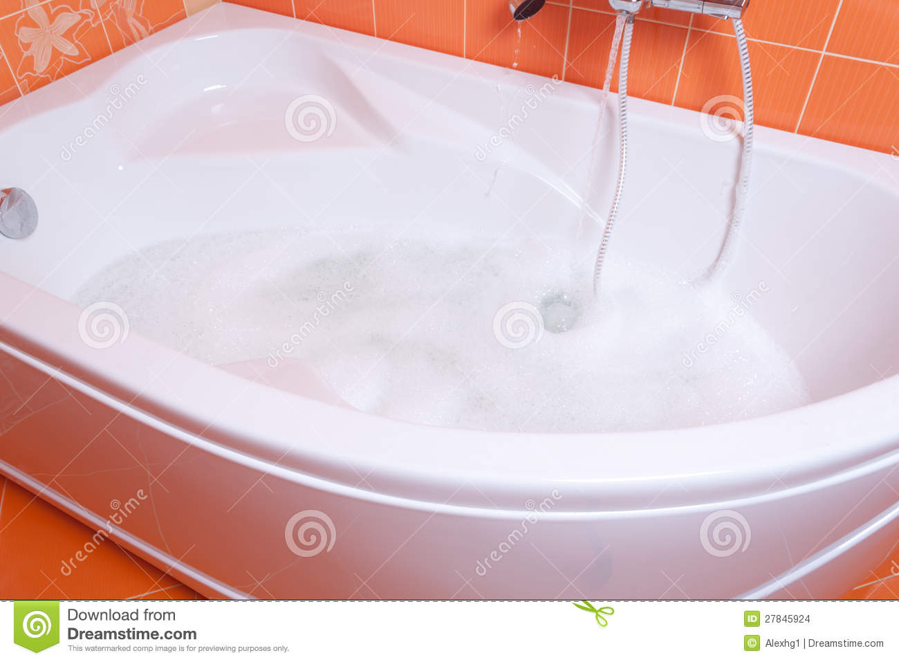 Bubble bath tub stock photo. Image of bubble, residential - 27845924