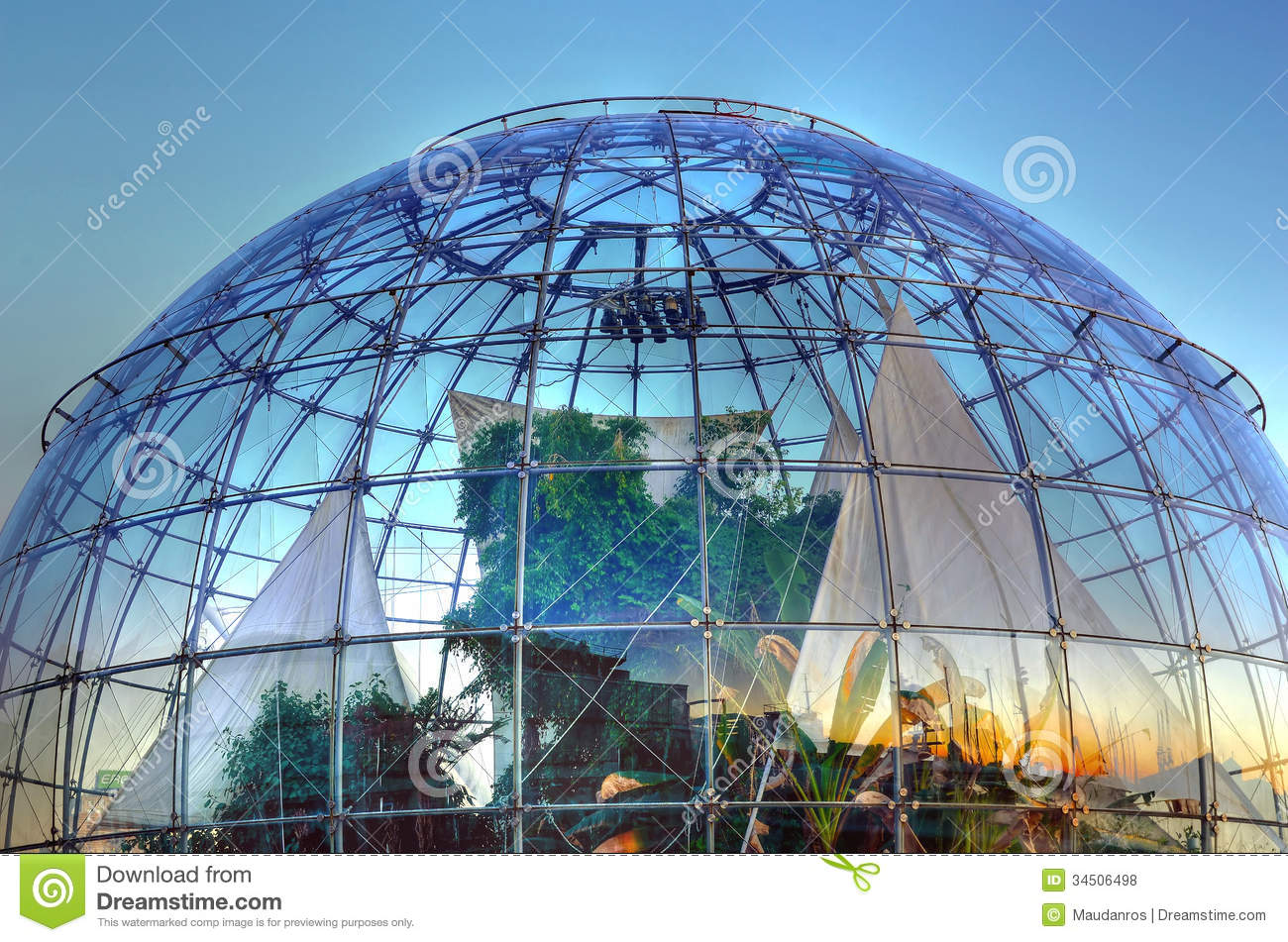 The Bubble Biosphere By Renzo Editorial Stock Photo