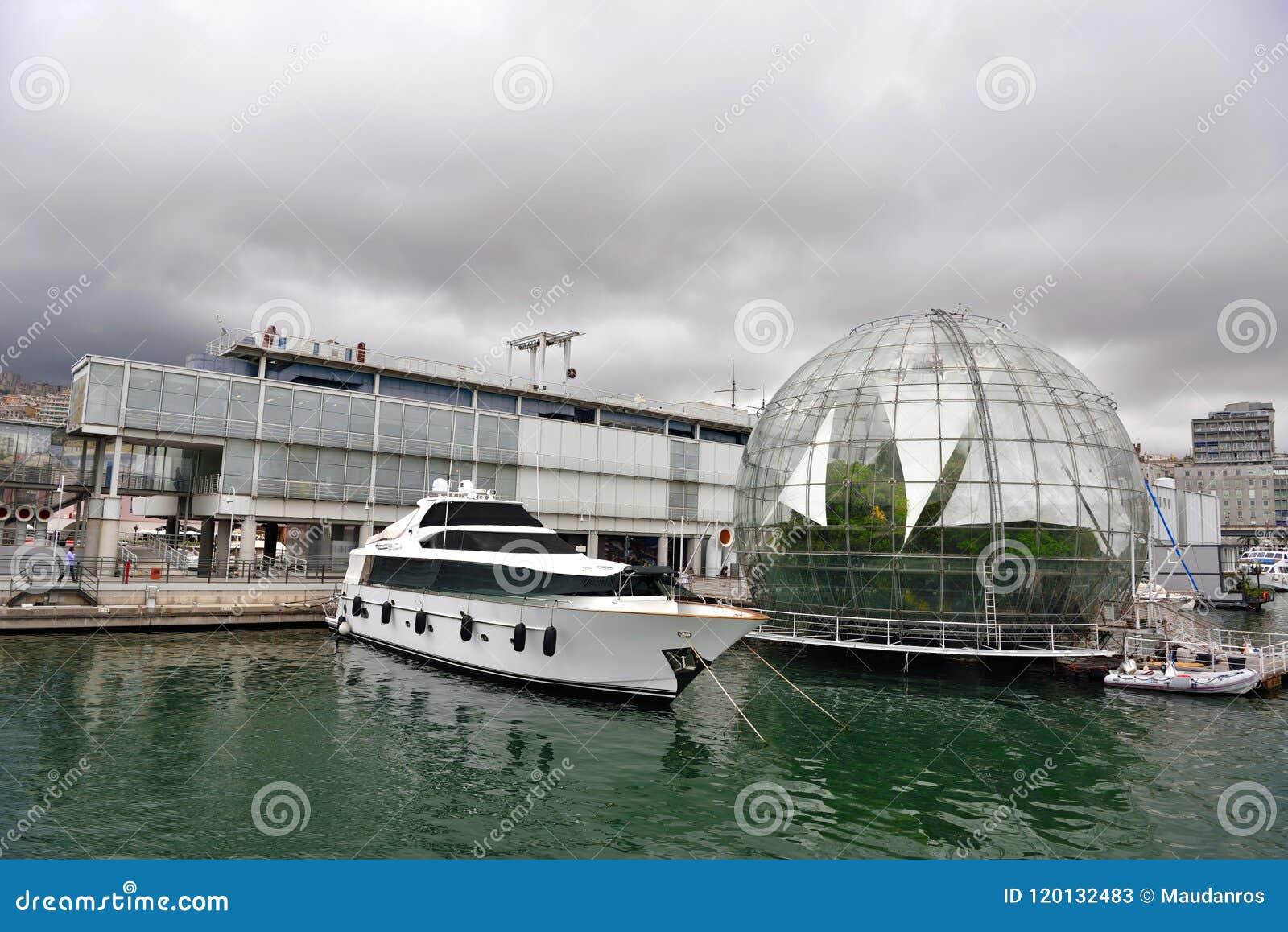 The bubble biosphere by Renzo Piano Genoa Italy