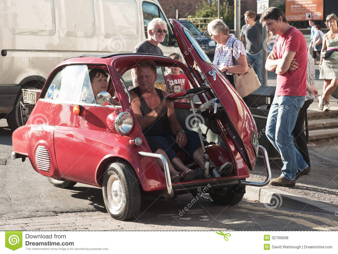 Bubble Car Door Opening At Front Editorial Stock Photo Image Of