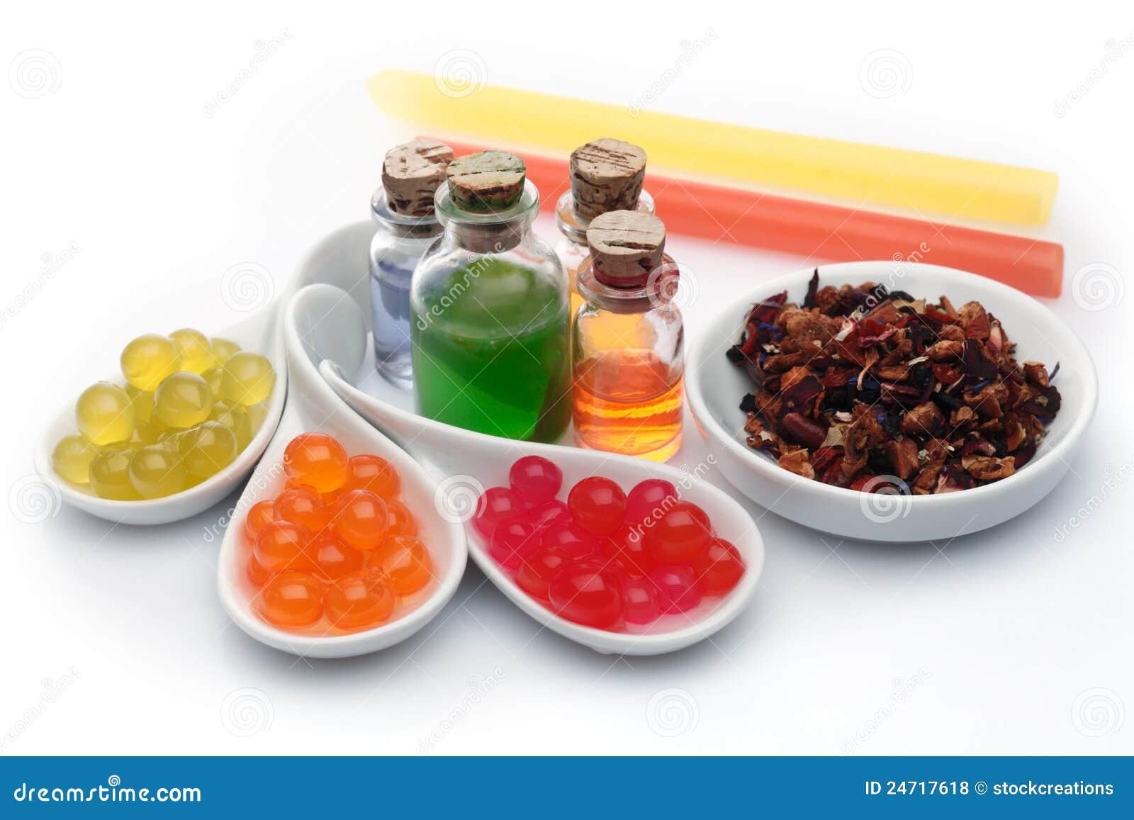 Bubble tea ingredients
