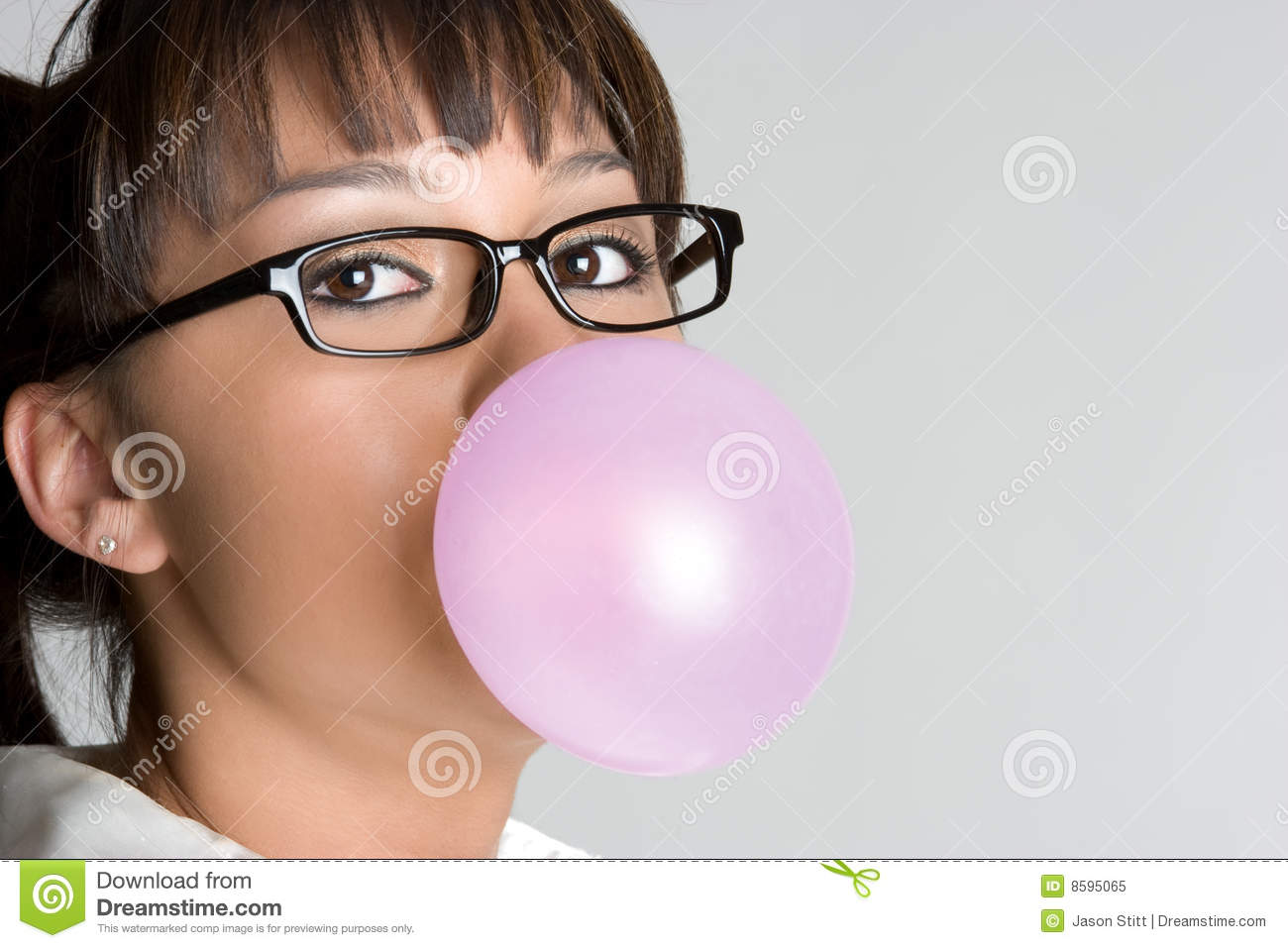 bubble gum girl naked