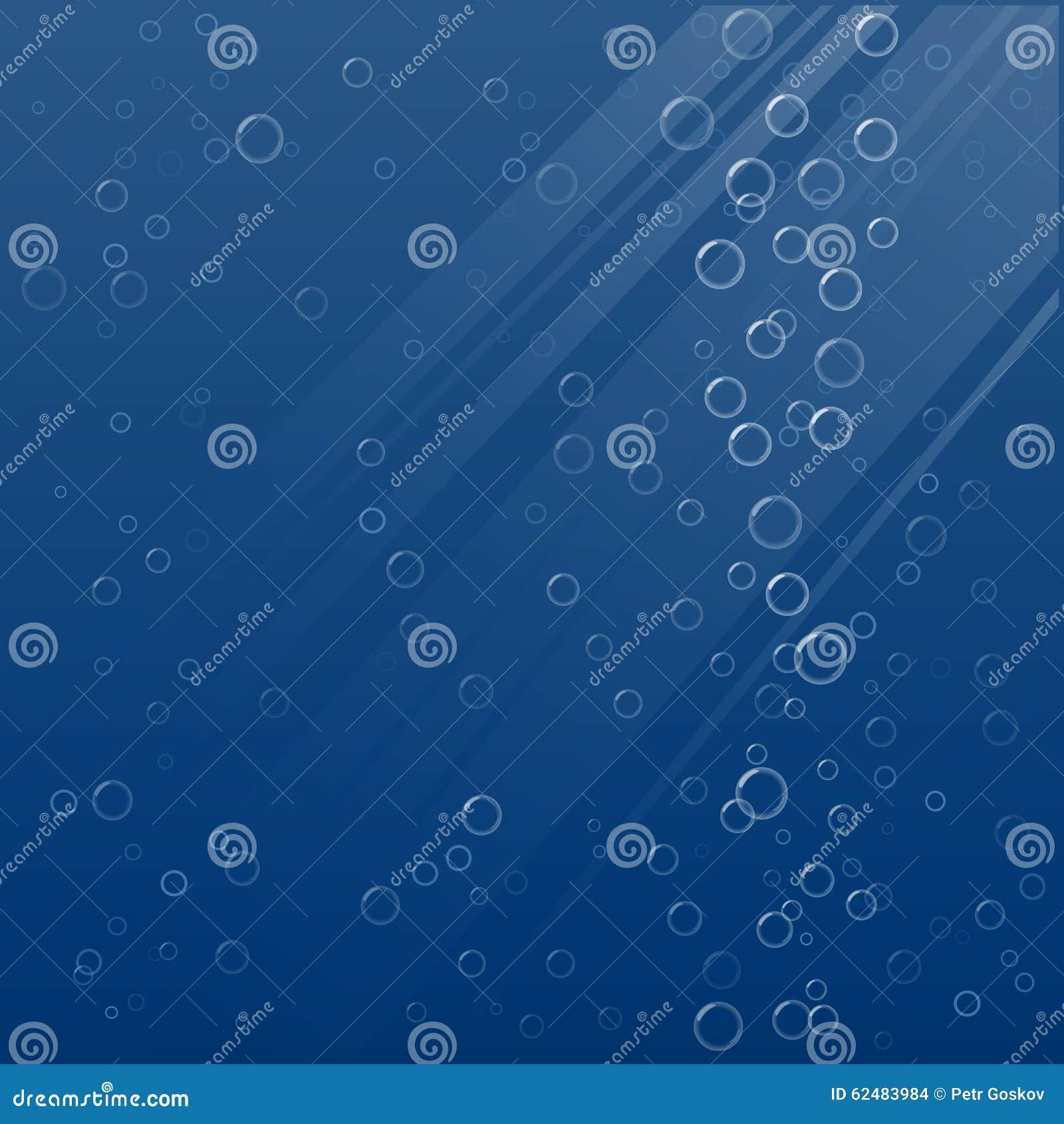 Bubbles Underwater. Vector Illustration. Stock Vector ...