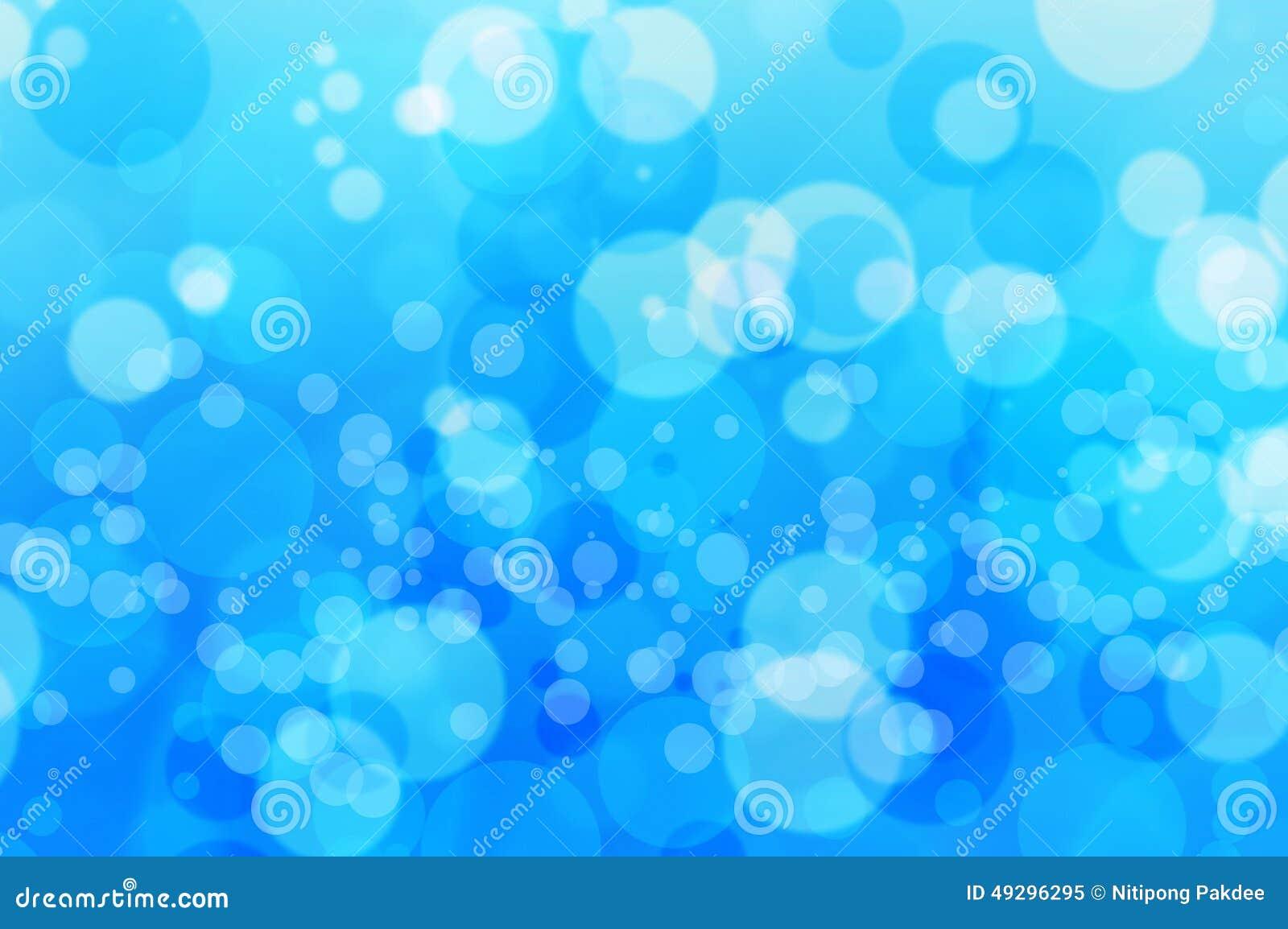 Bubblor Vatten Och Bakgrund För Blure Bokehblått Fotografering för ... : bubblor i tapeten : Inredning