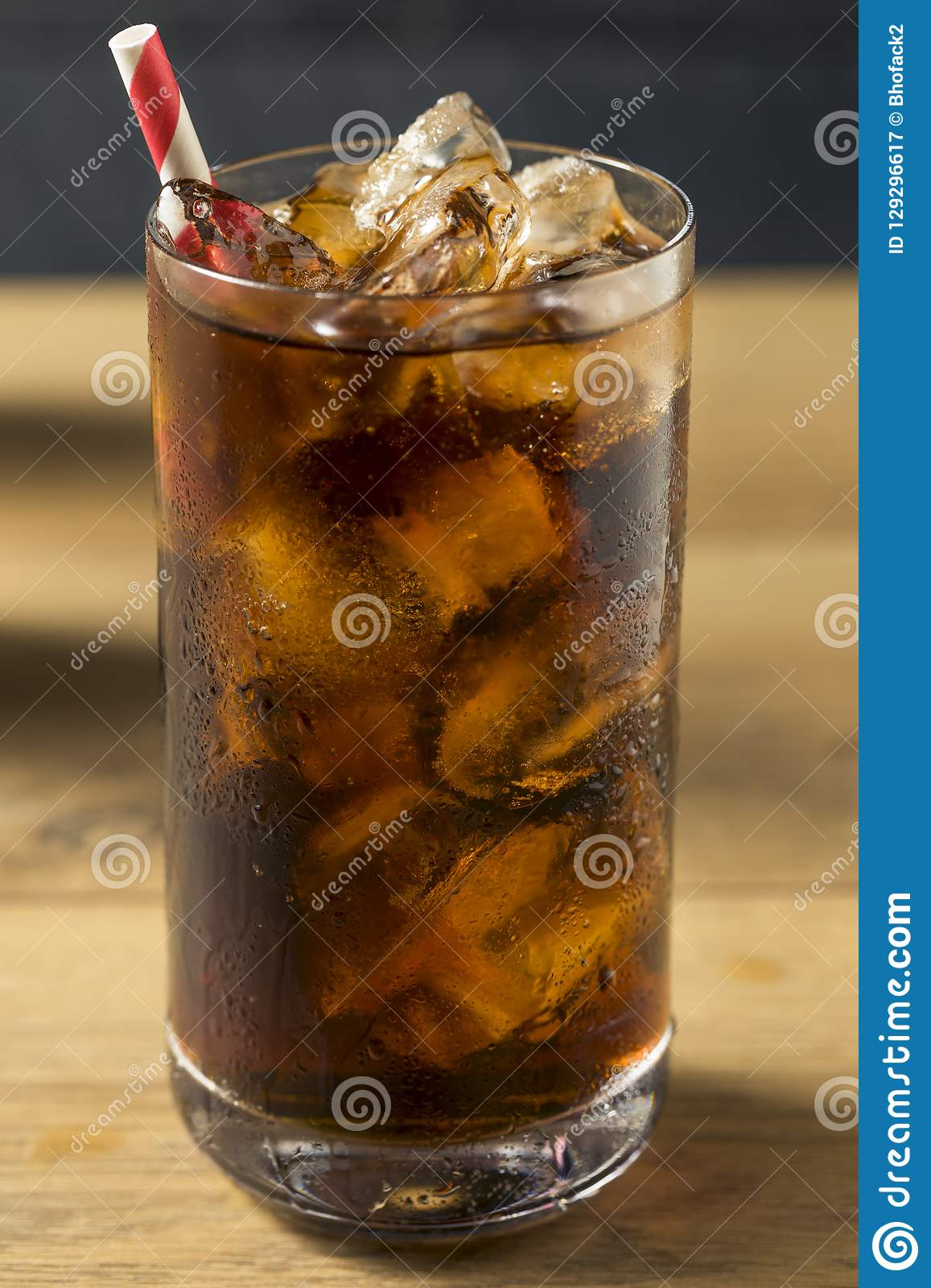 Bubbly Refreshing Dark Soda