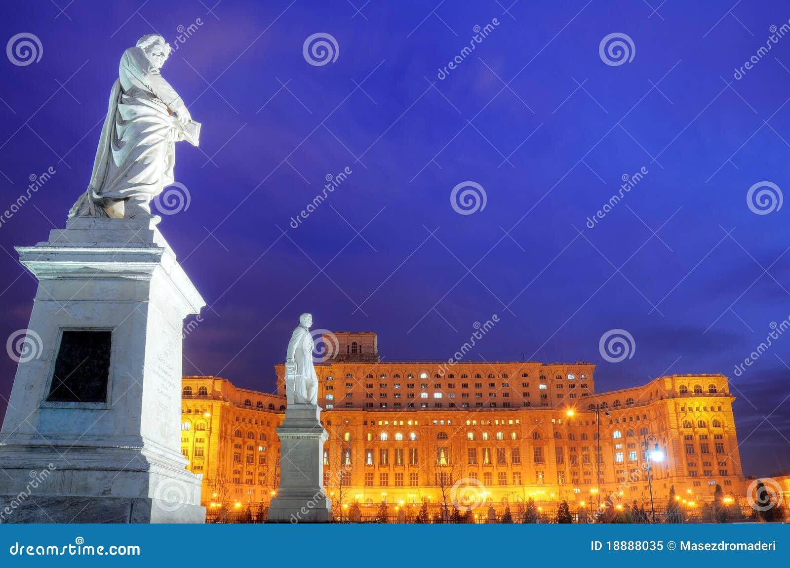 Bucarest - palacio del parlamento