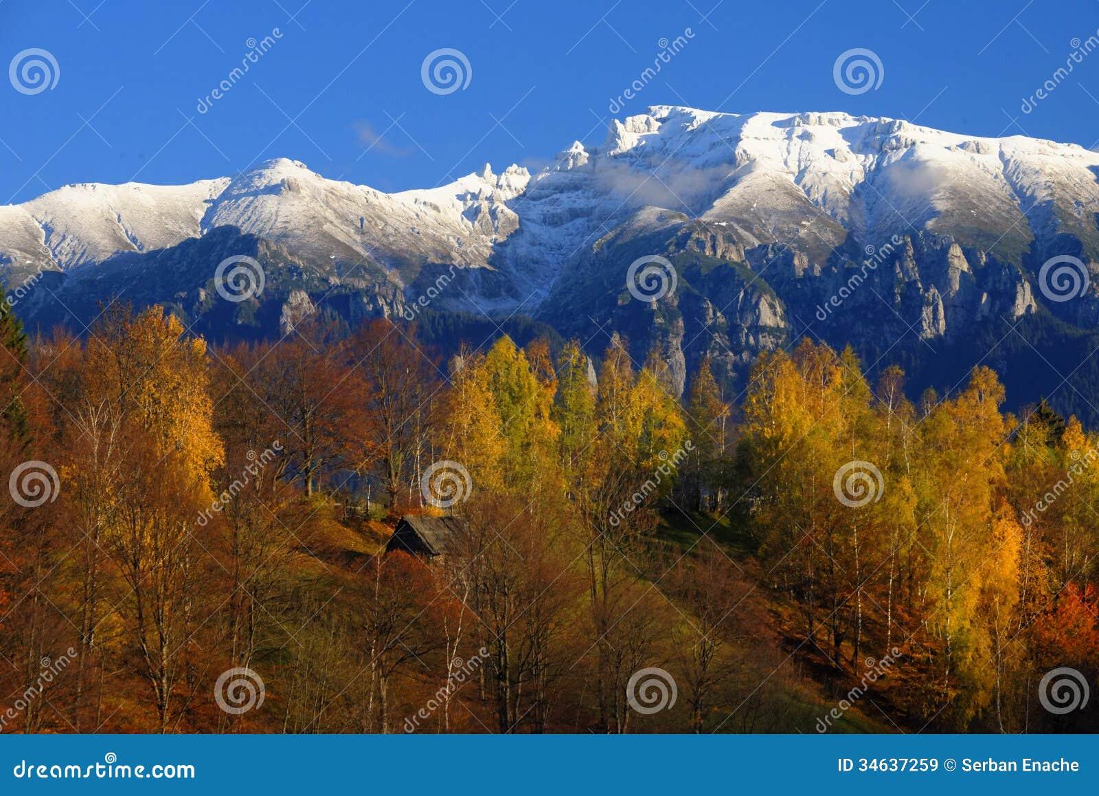 Bucegibergen in Roemenië