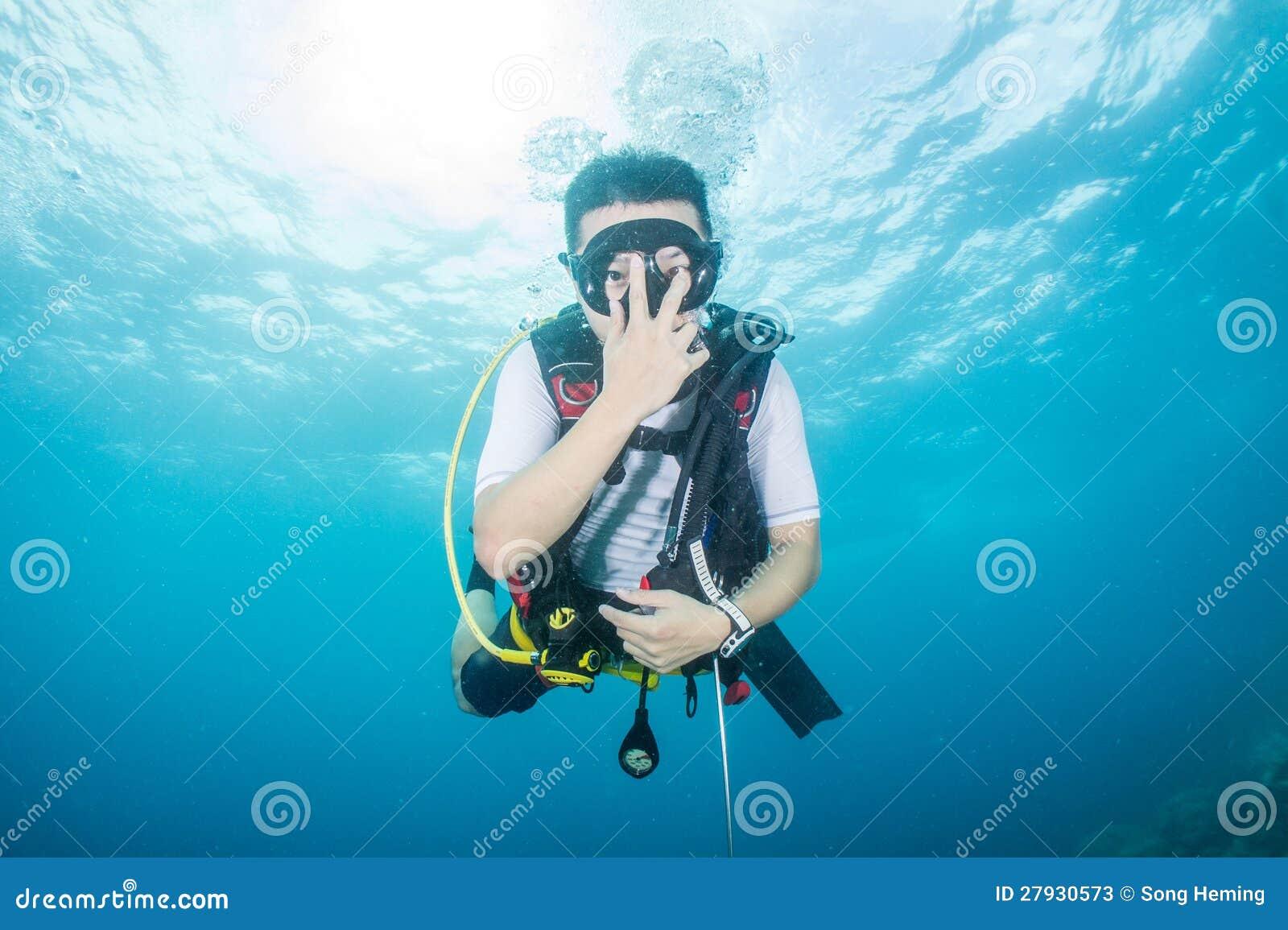 Buceo con escafandra