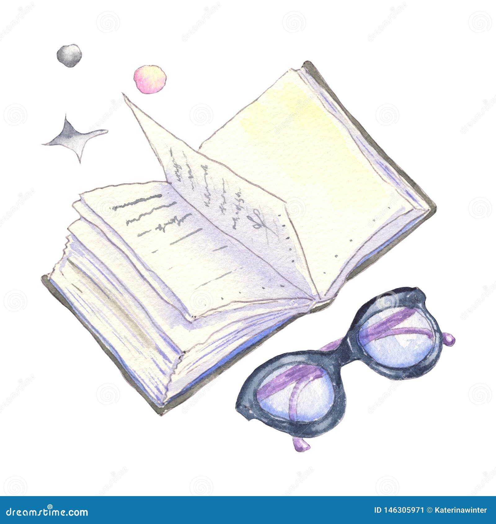 Buch und Gl?ser