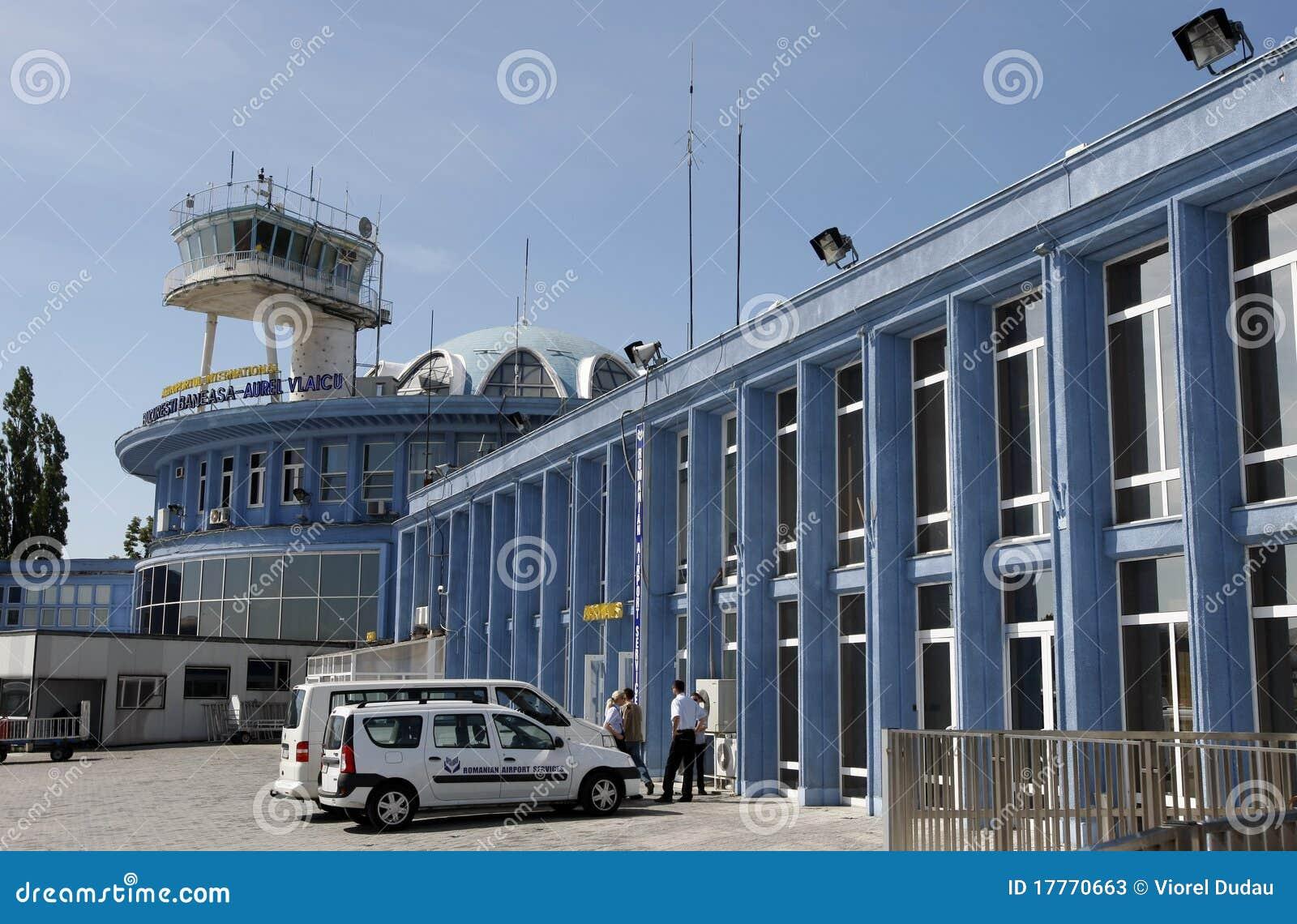 Aeroporto Romania : Bucharest baneasa airport aurel vlaicu editorial stock