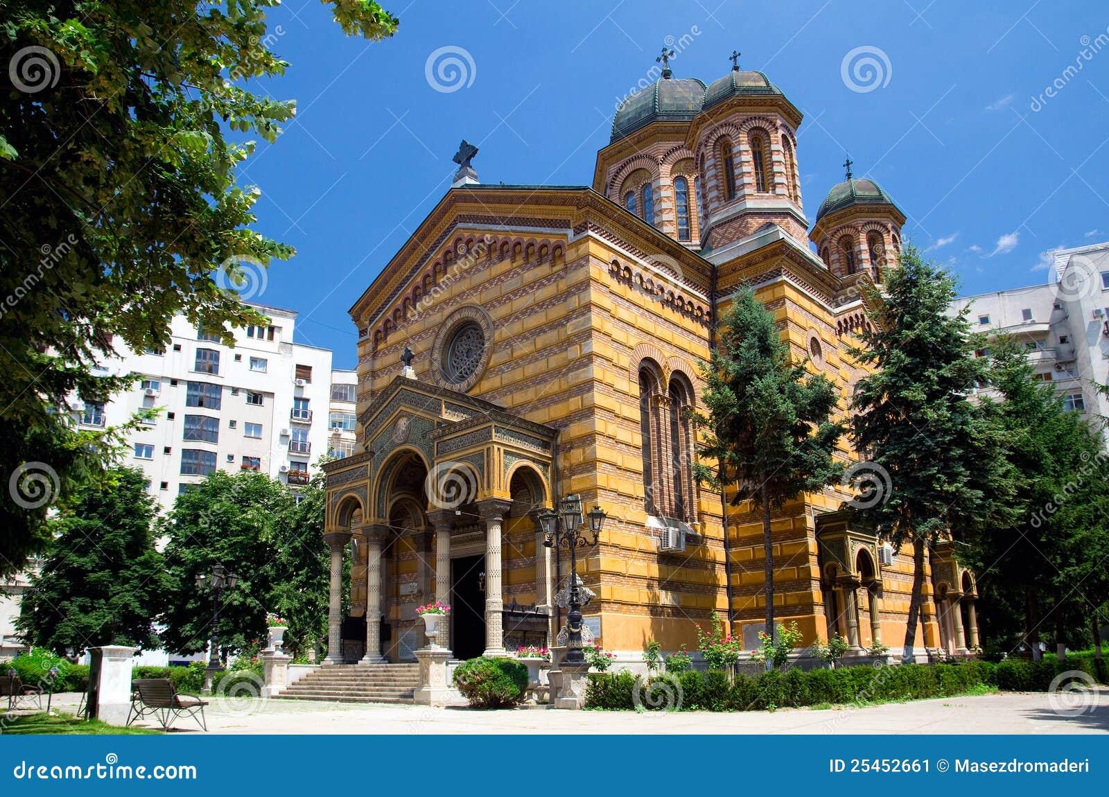 Bucharest - kyrka av uppstigningen