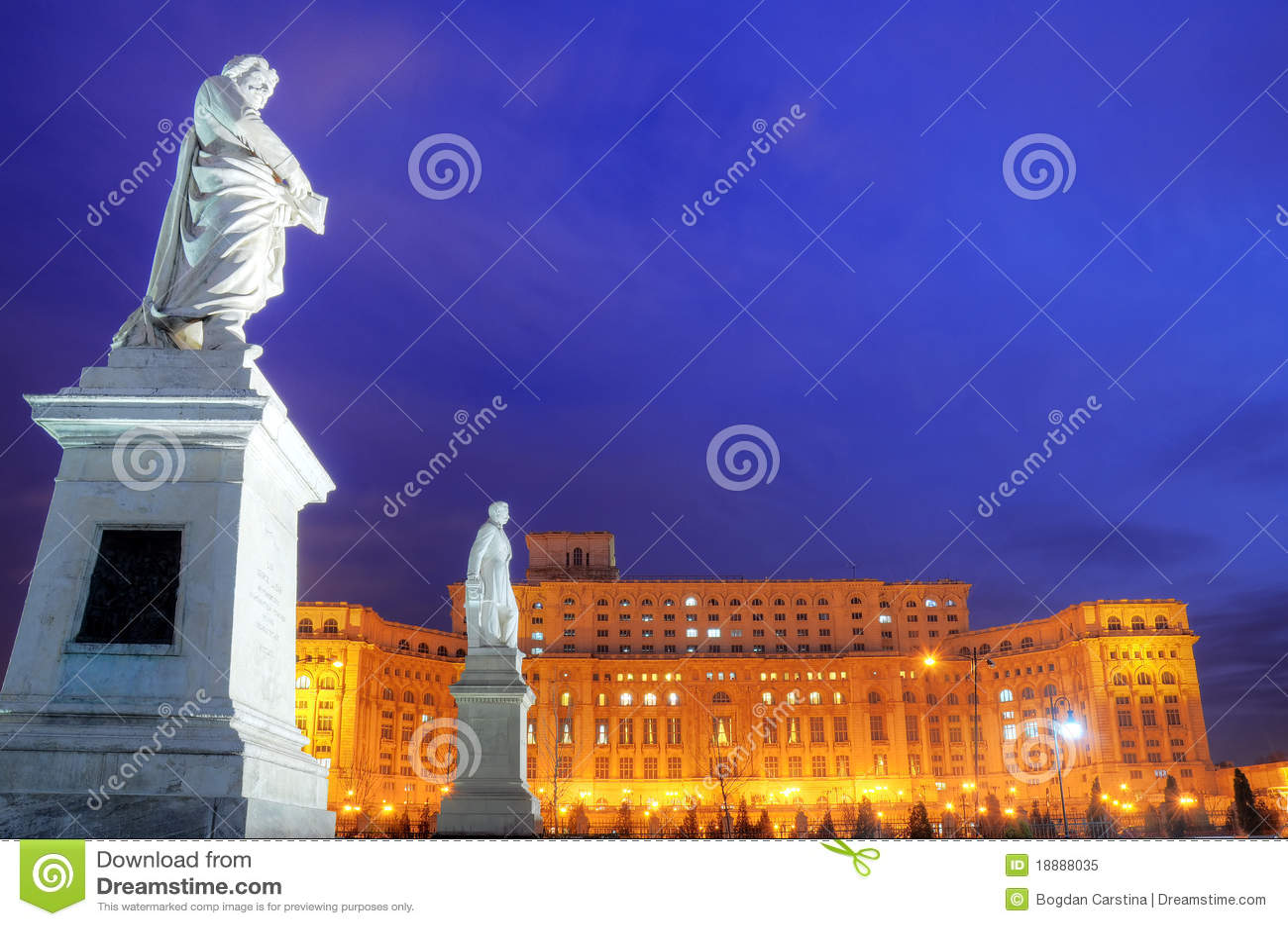 Bucharest palace parliament