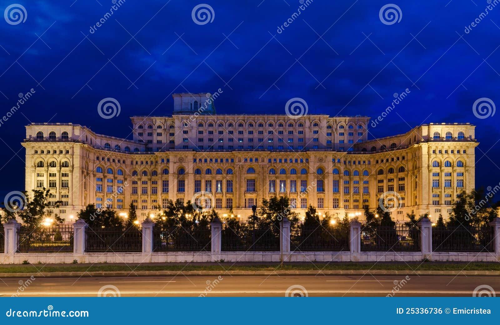 Bucharest, Parlaments-Palast
