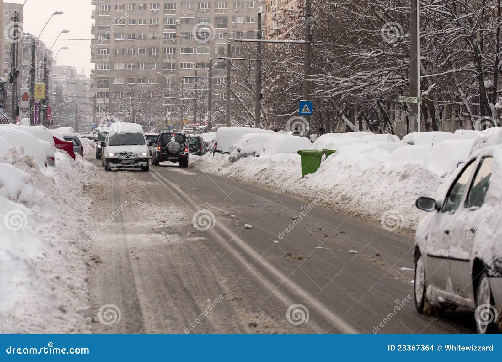 Bucharest Romania February 14 Weather Anomalies Editorial Stock Image Image Of Anomalies Freeze 23367364