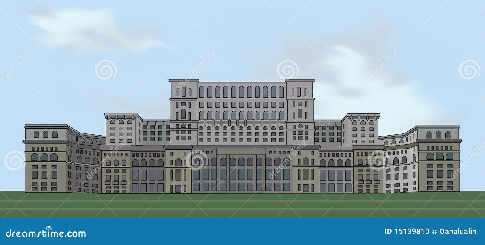 Bucharest slottparlament romania