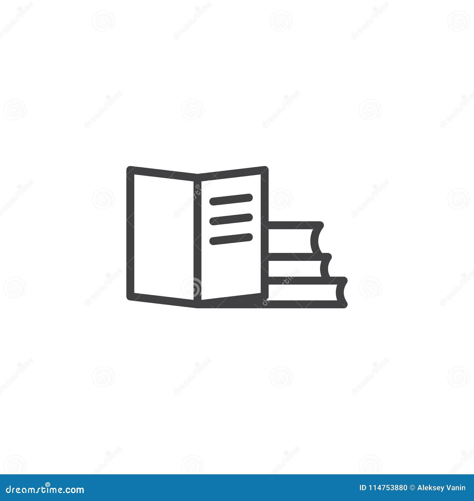 Buchentwurfsikone