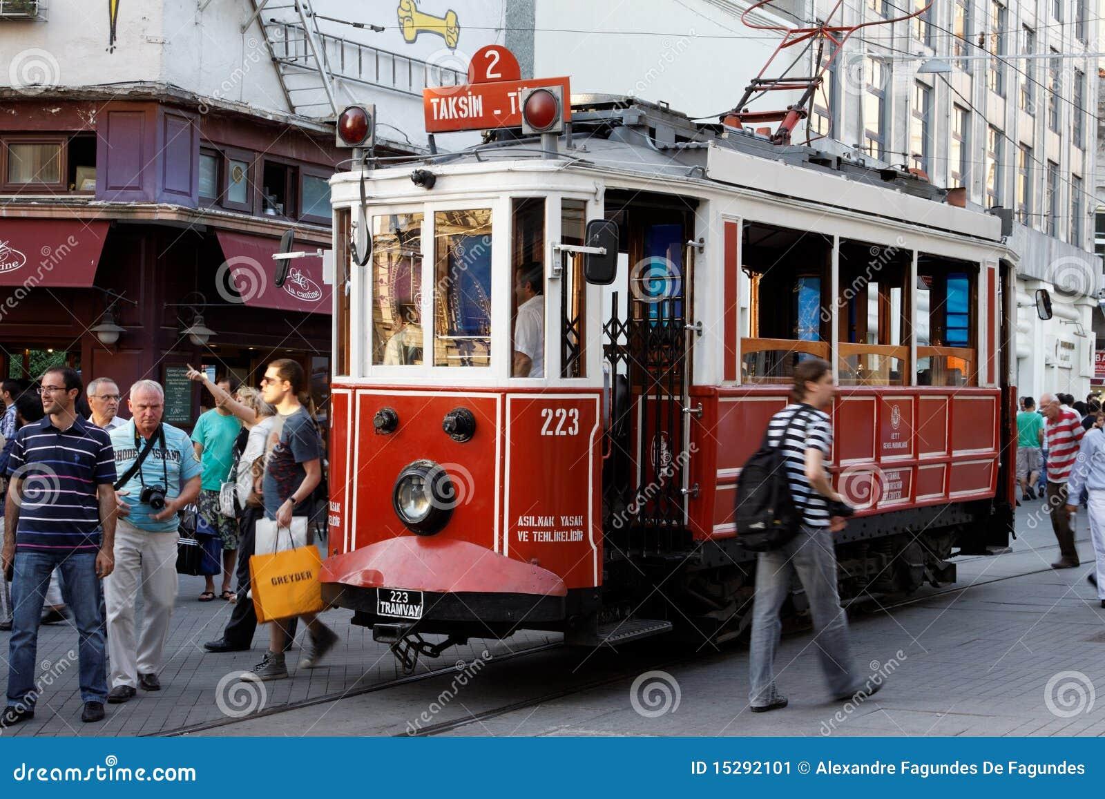 Bucholic τραμ της Κωνσταντινούπο&